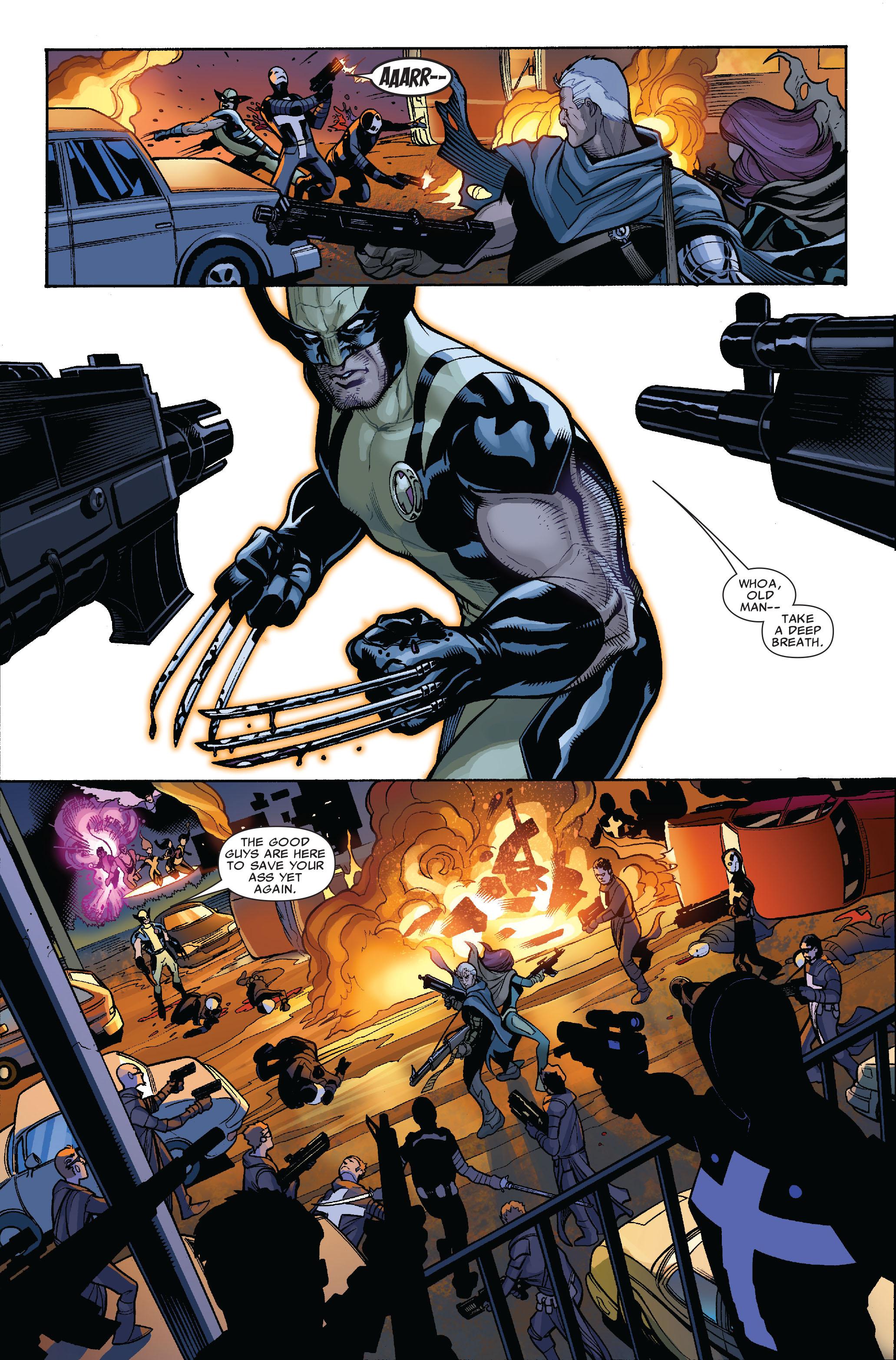 Read online Uncanny X-Men (1963) comic -  Issue #523 - 23