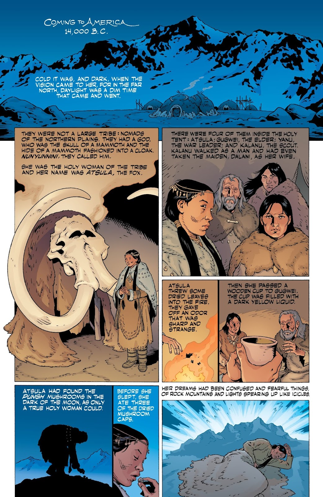 American Gods: My Ainsel issue 9 - Page 19