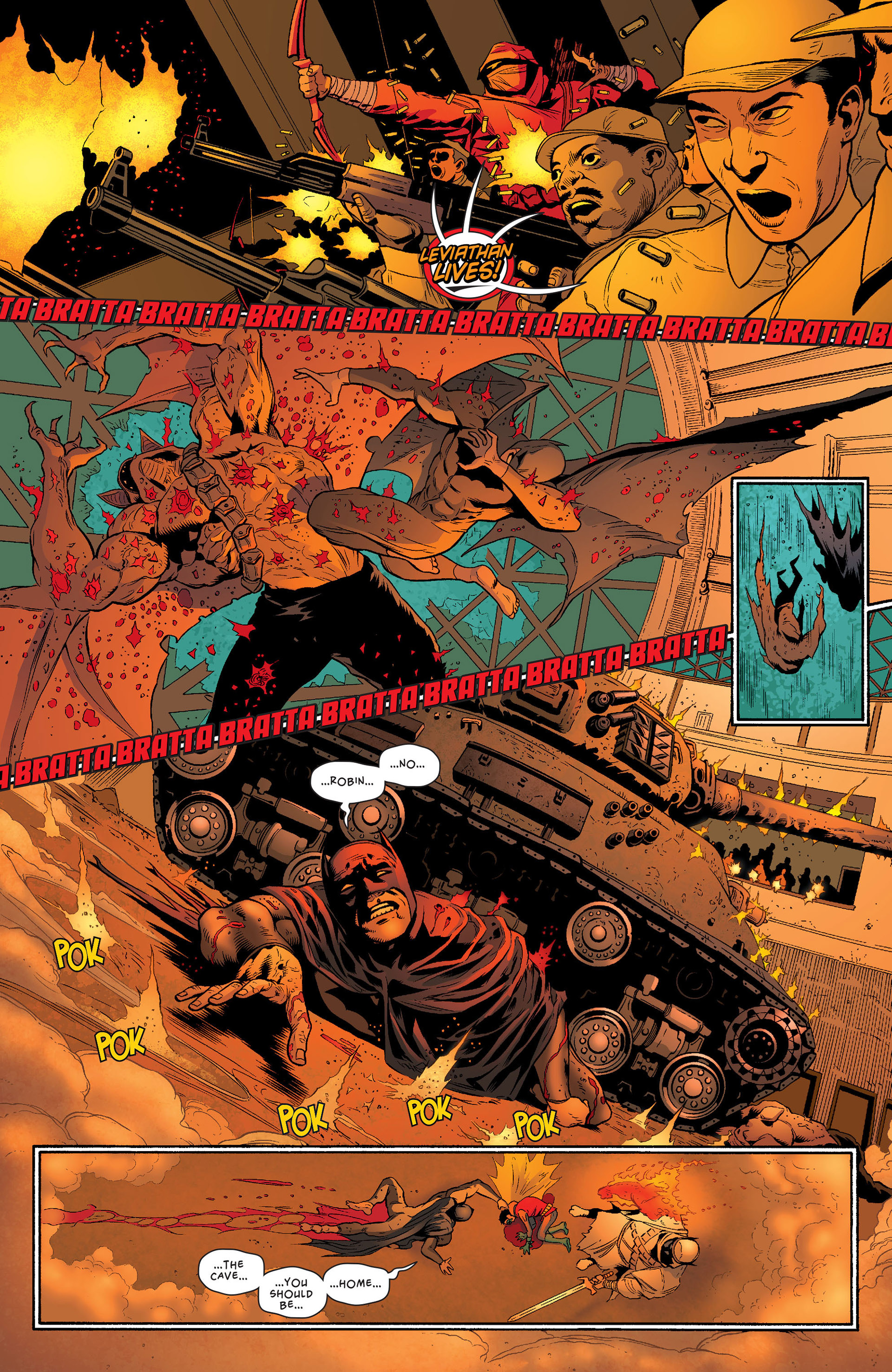 Read online Batman and Robin (2011) comic -  Issue #23 - Batman and Nightwing - 7