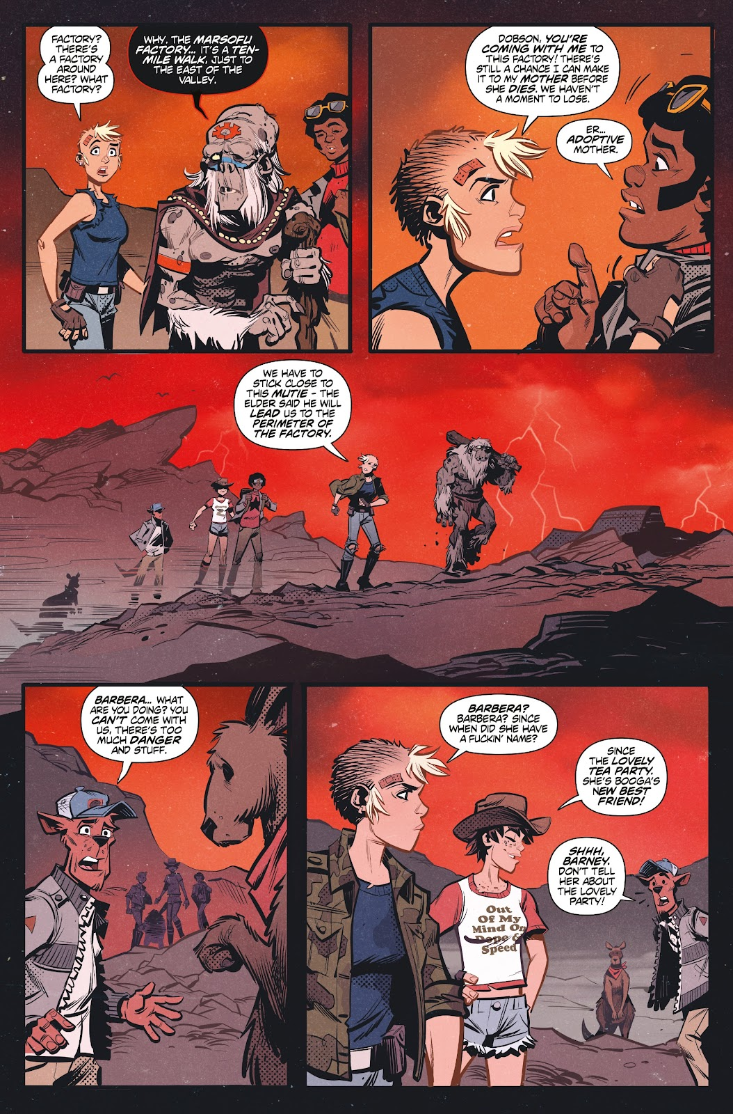 Read online Tank Girl Ongoing comic -  Issue #3 - 16