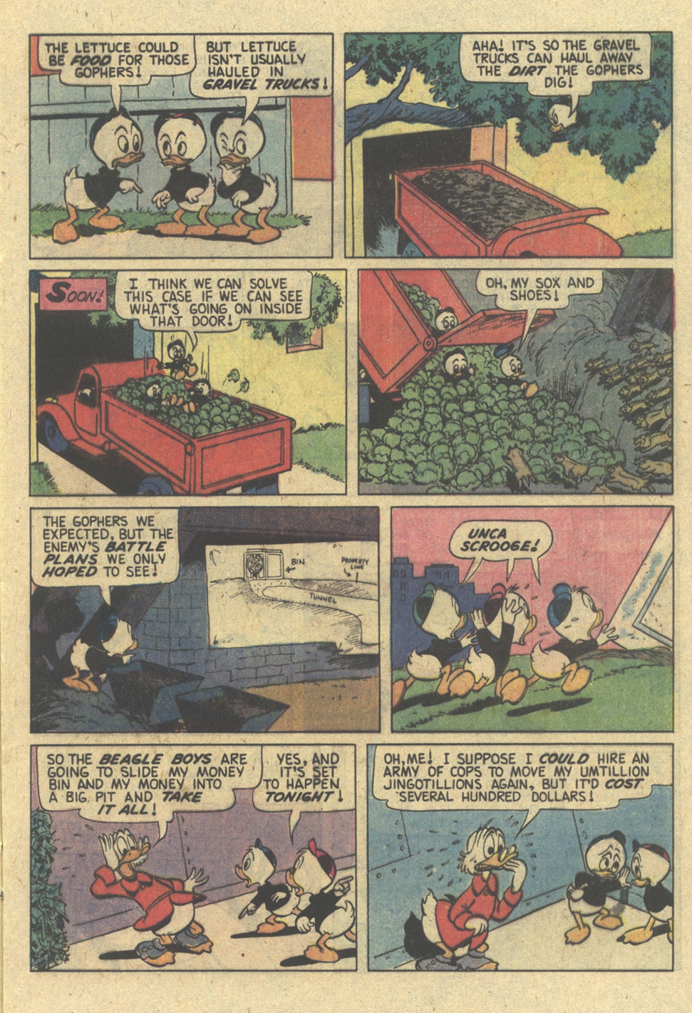 Read online Uncle Scrooge (1953) comic -  Issue #173 - 9