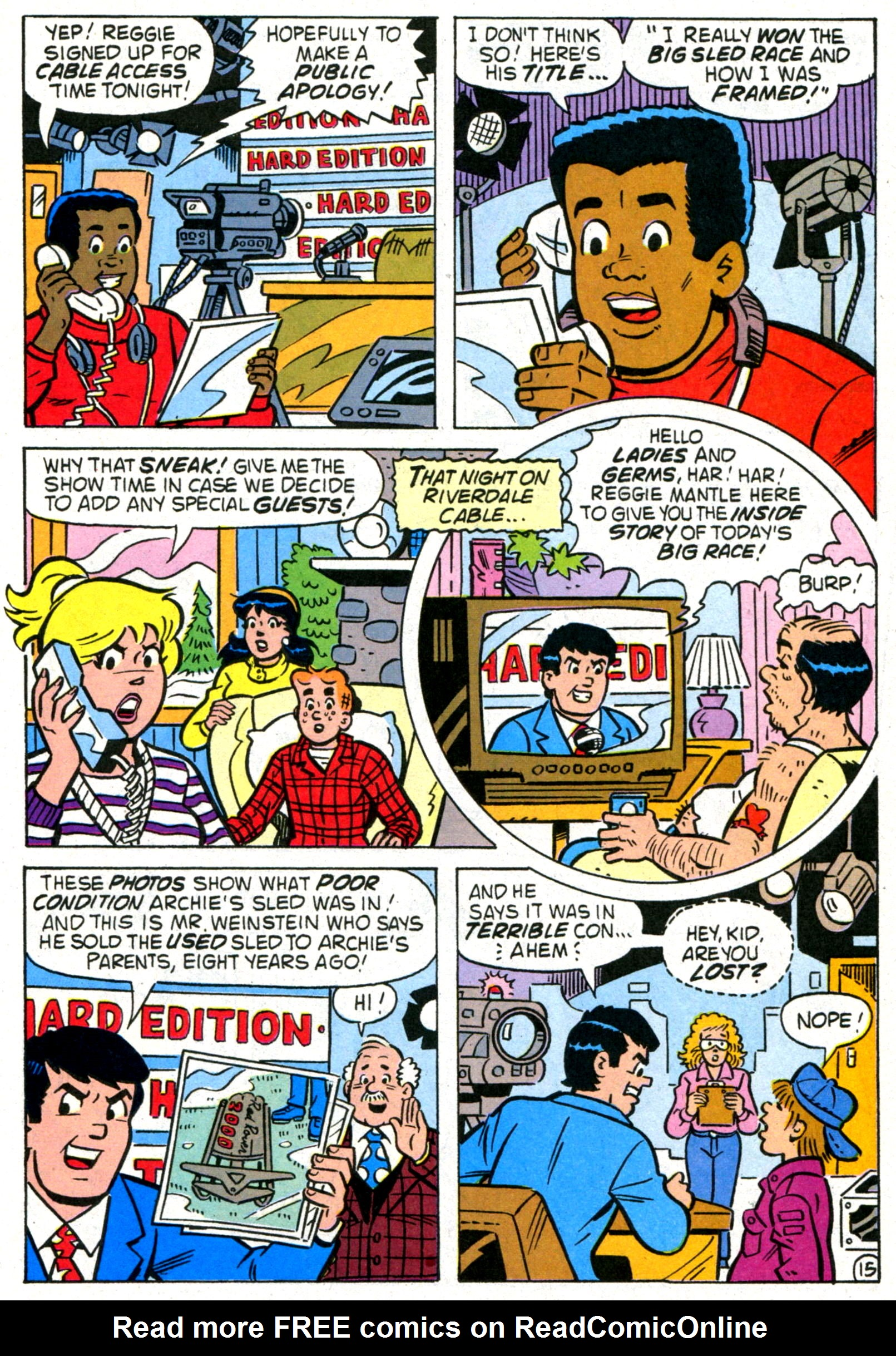 Read online World of Archie comic -  Issue #8 - 22