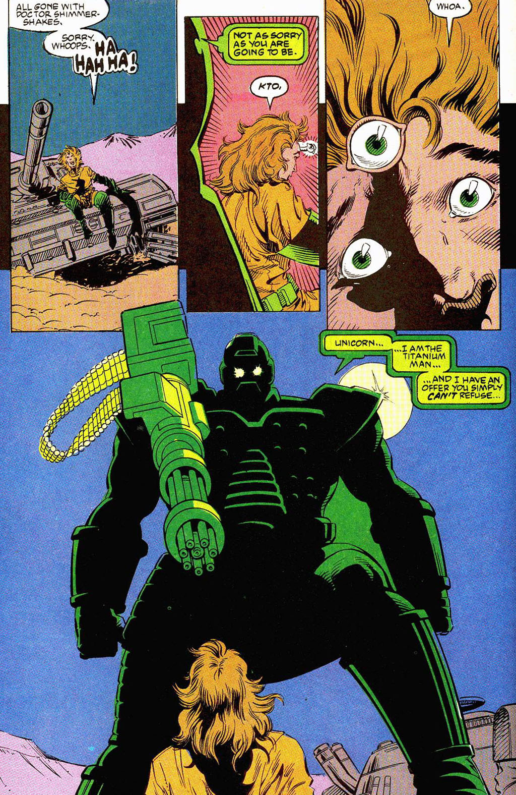 Read online Soviet Super Soldiers comic -  Issue # Full - 55