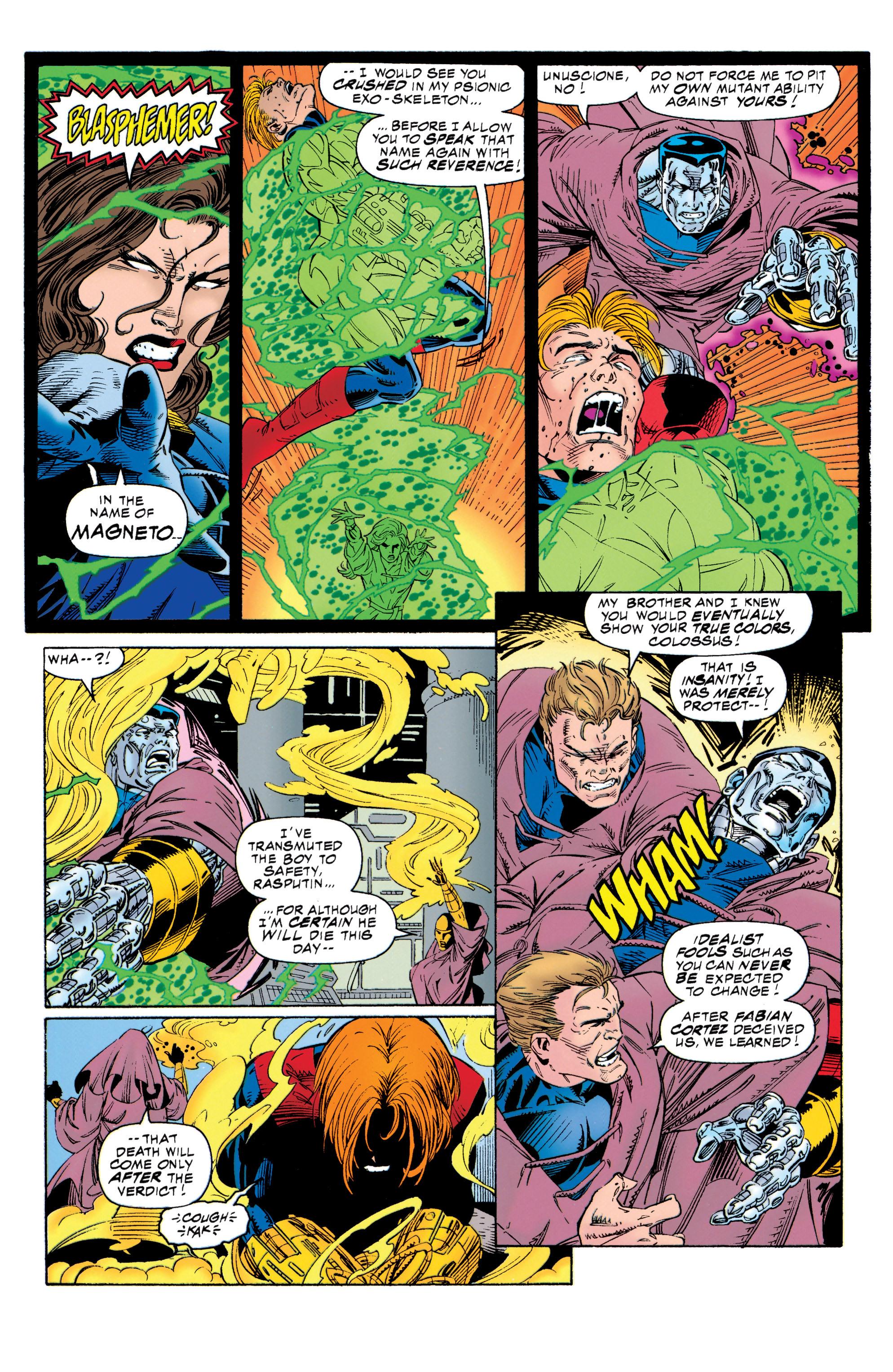 Read online Uncanny X-Men (1963) comic -  Issue #315 - 15