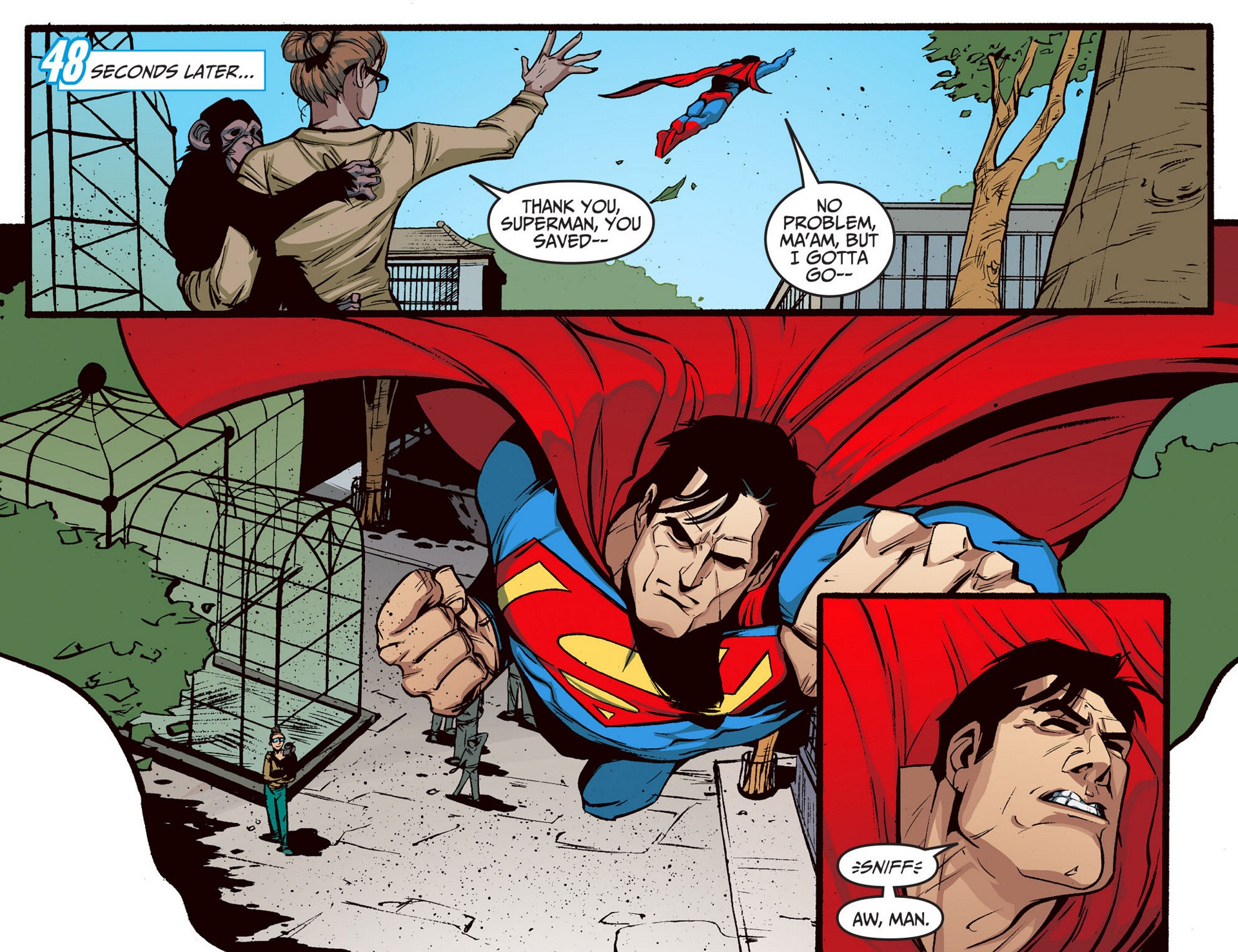 Read online Adventures of Superman [I] comic -  Issue #5 - 9