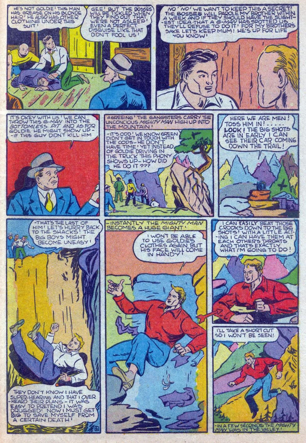 Read online Amazing Man Comics comic -  Issue #15 - 50
