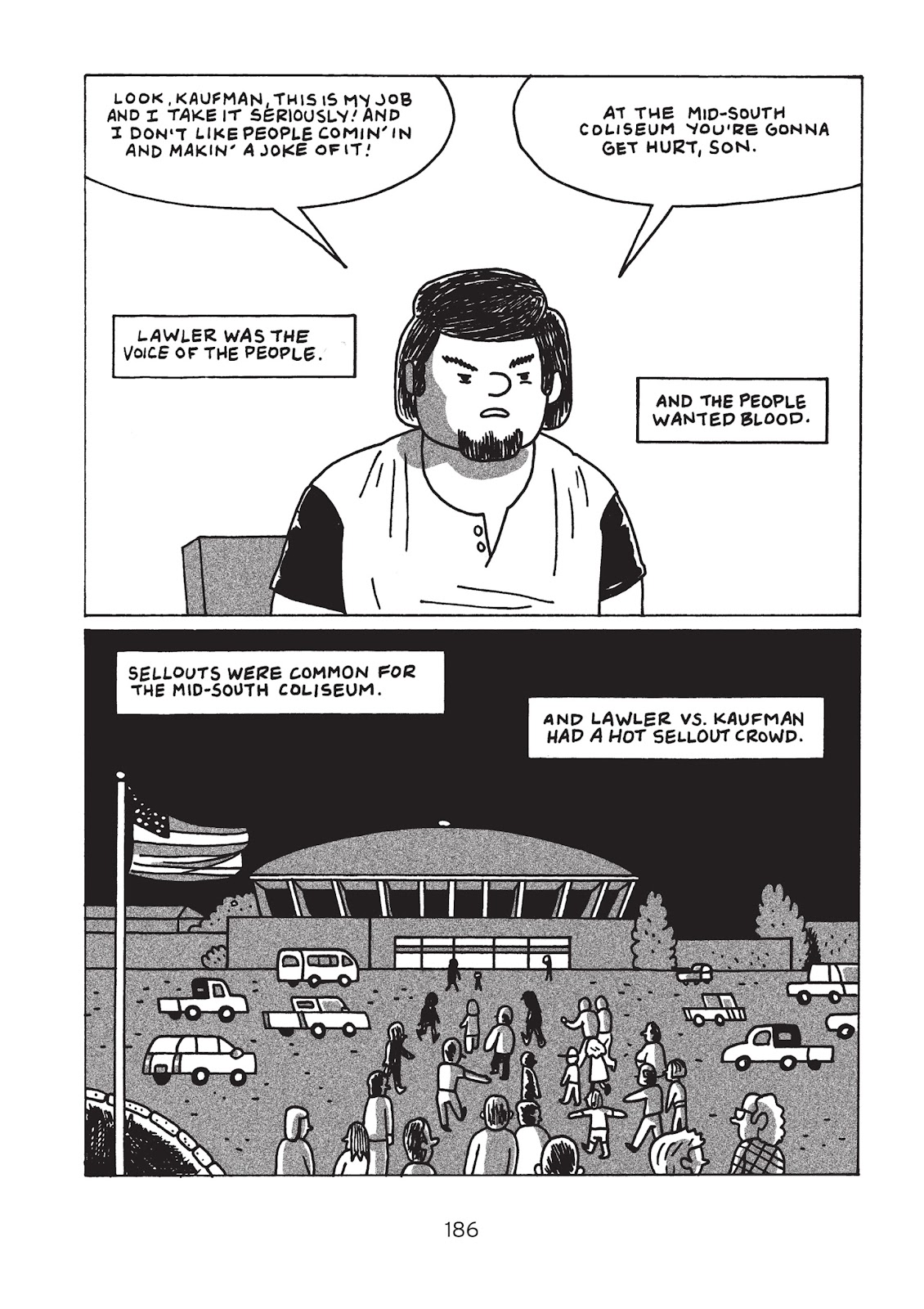 Read online Is This Guy For Real?: The Unbelievable Andy Kaufman comic -  Issue # TPB (Part 2) - 91