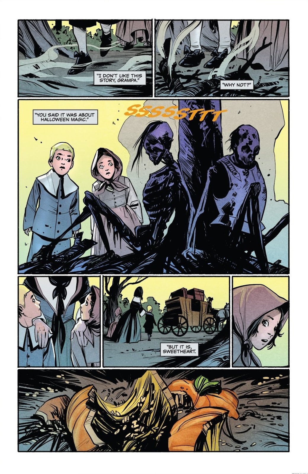 Read online Trick 'r Treat: Days of the Dead comic -  Issue # TPB - 28