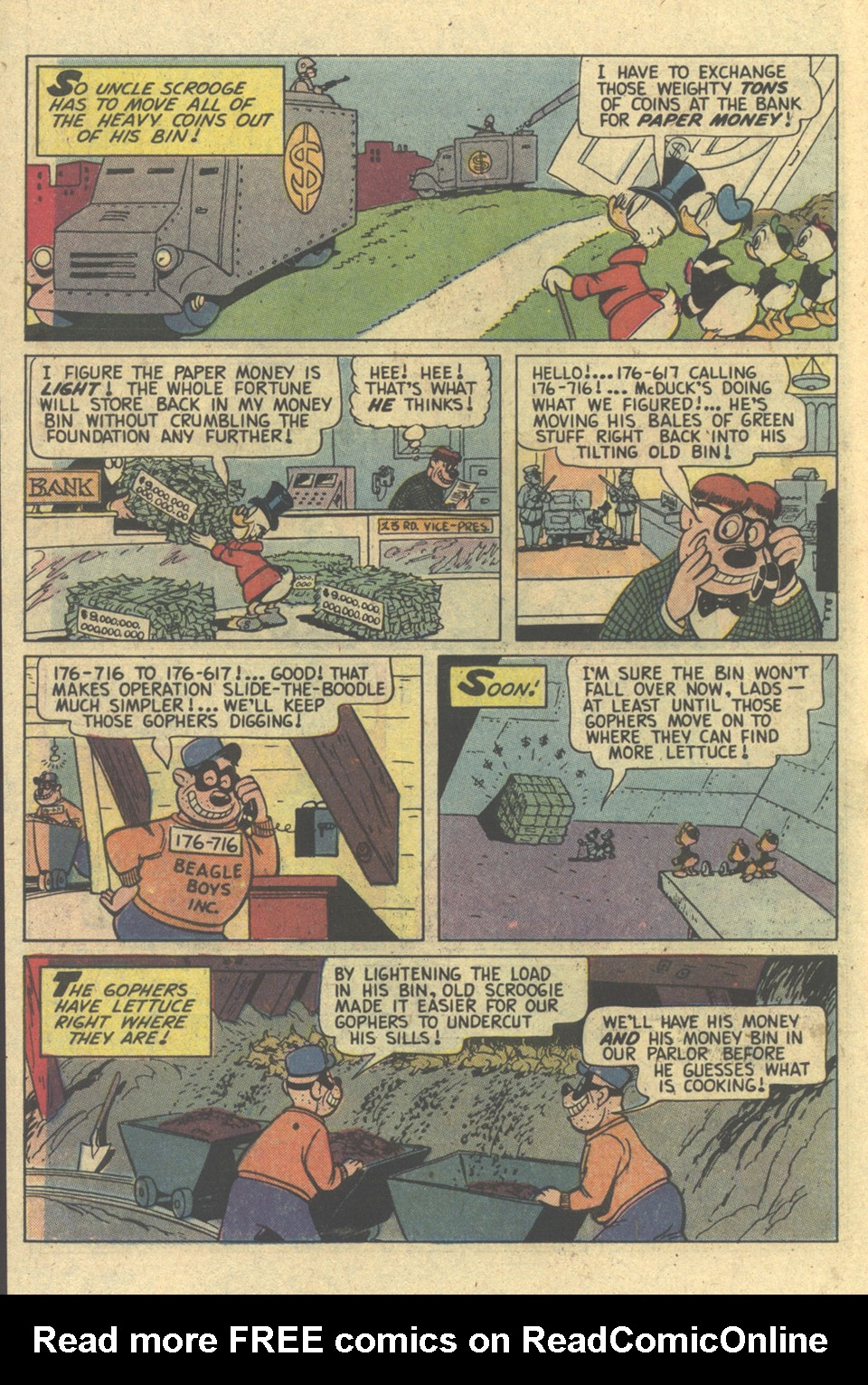 Read online Uncle Scrooge (1953) comic -  Issue #173 - 6