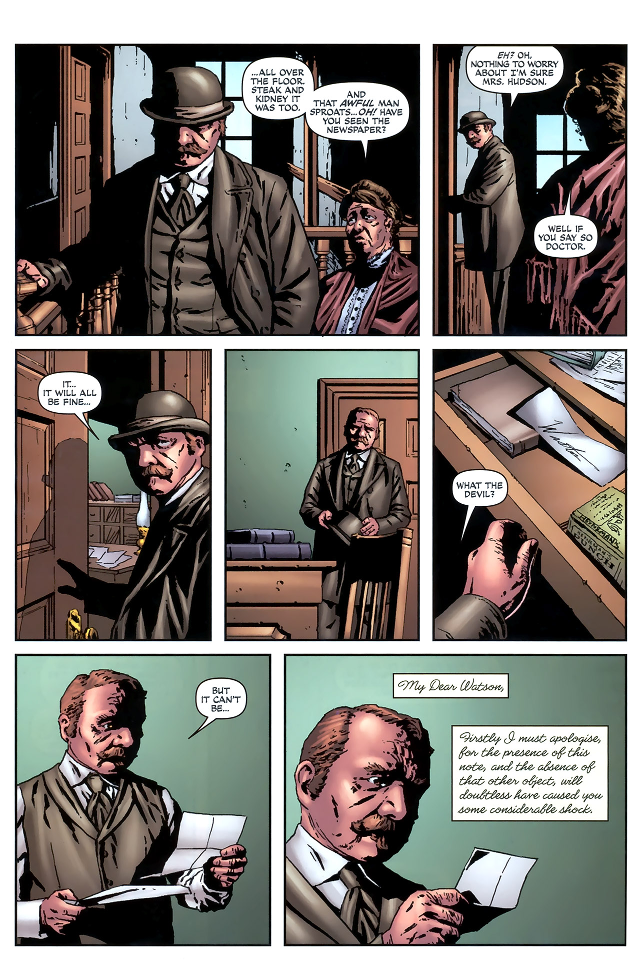 Read online Sherlock Holmes (2009) comic -  Issue #4 - 10