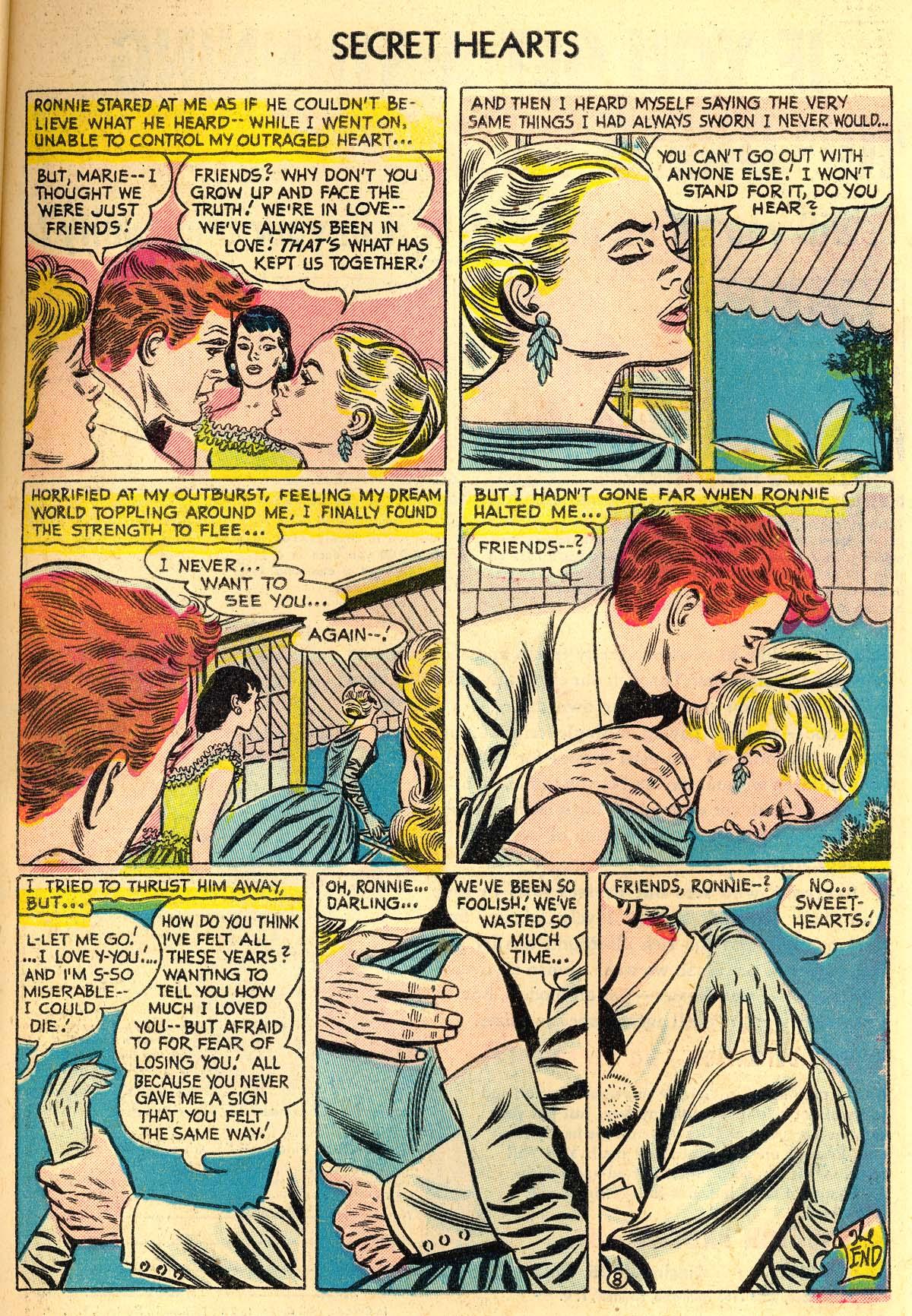 Read online Secret Hearts comic -  Issue #30 - 33