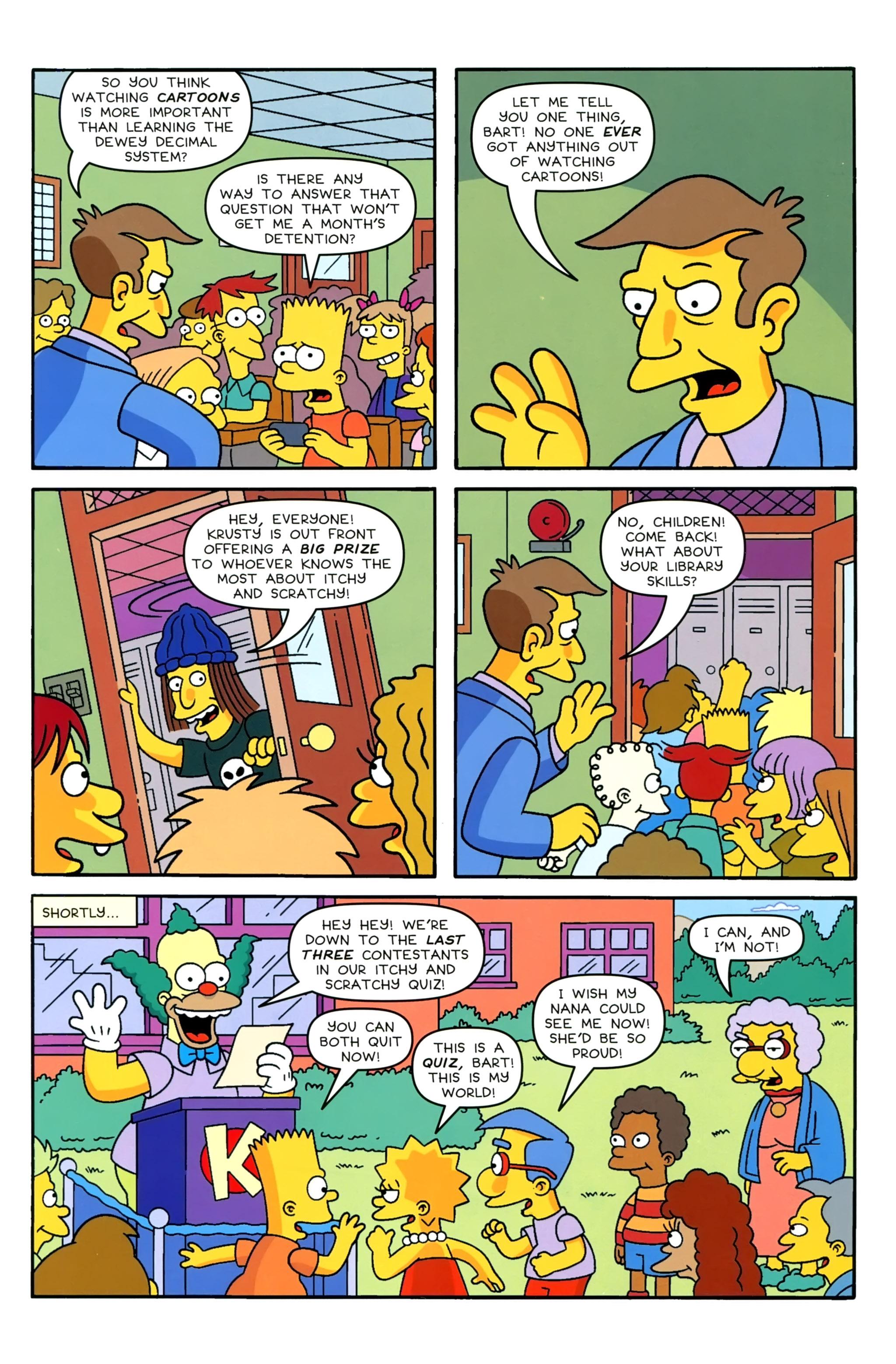 Read online Simpsons Comics comic -  Issue #229 - 5