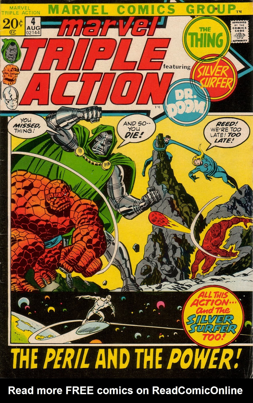 Marvel Triple Action (1972) issue 4 - Page 1