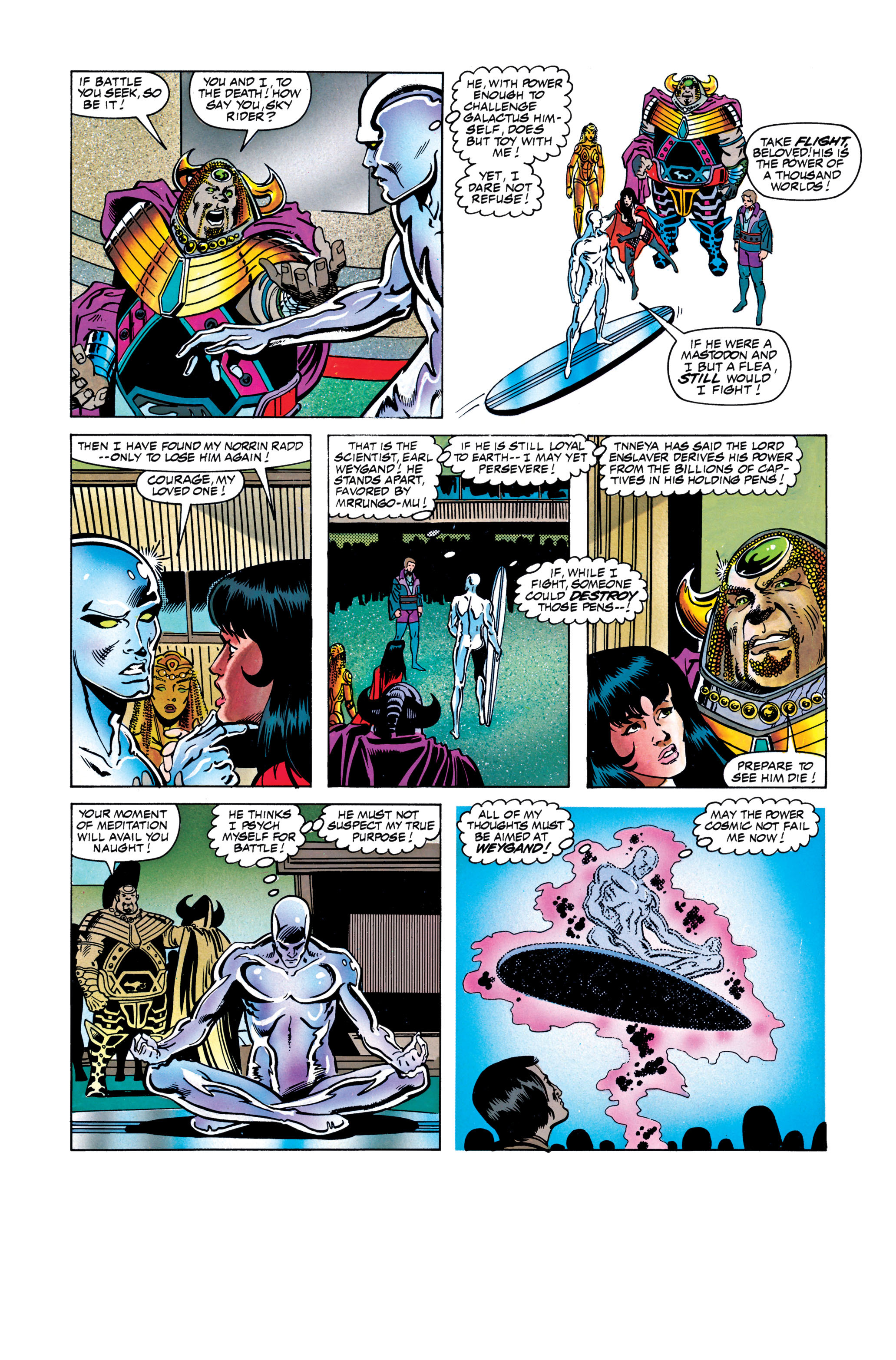 Read online Silver Surfer: Parable comic -  Issue # TPB - 112