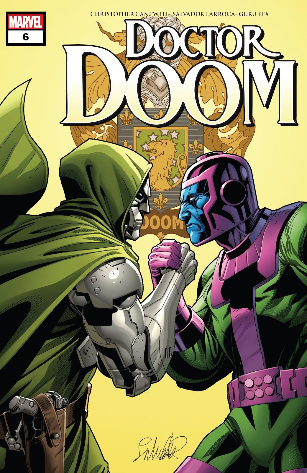 Doctor Doom 6 Page 1