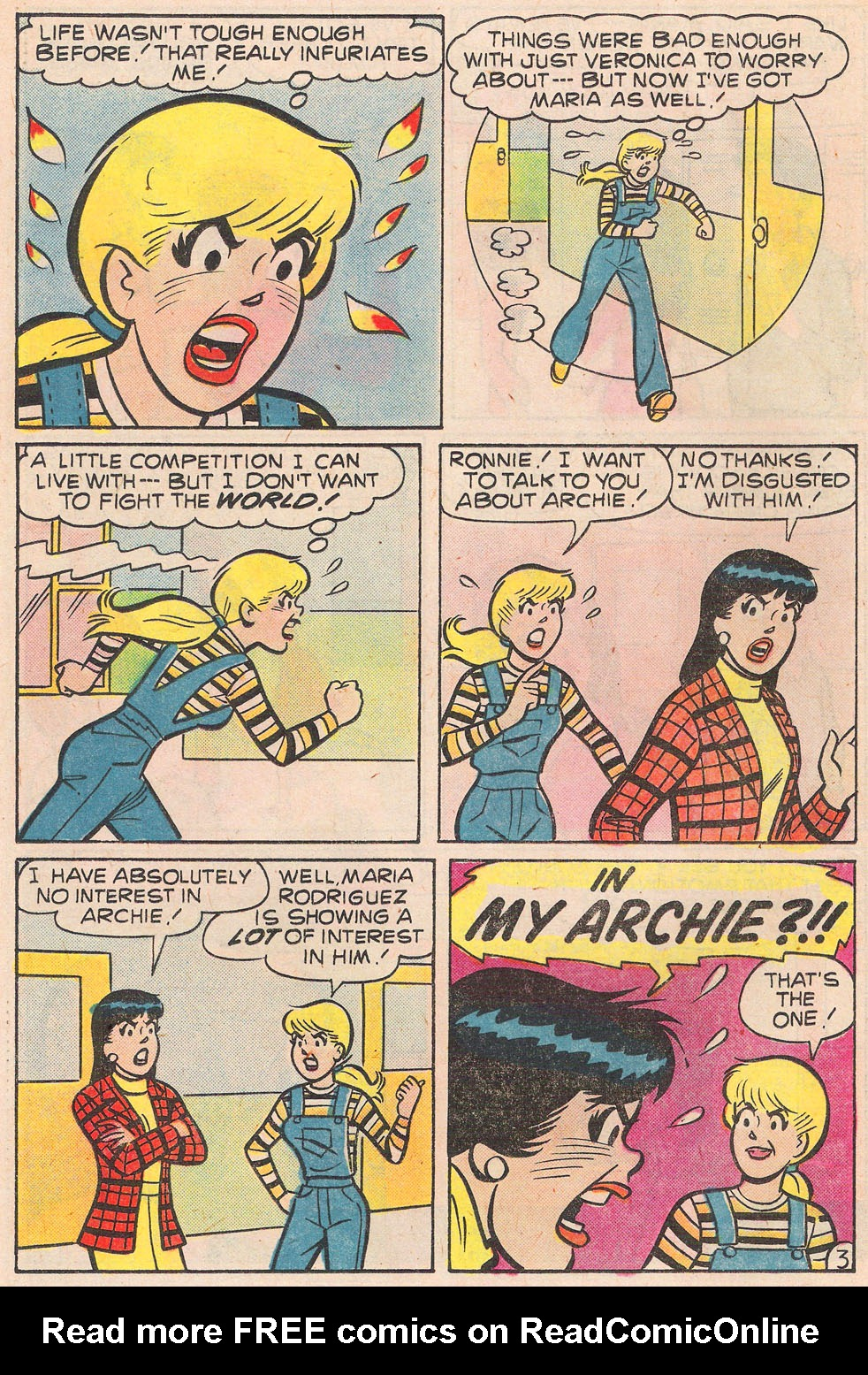 Read online Archie's Girls Betty and Veronica comic -  Issue #257 - 22
