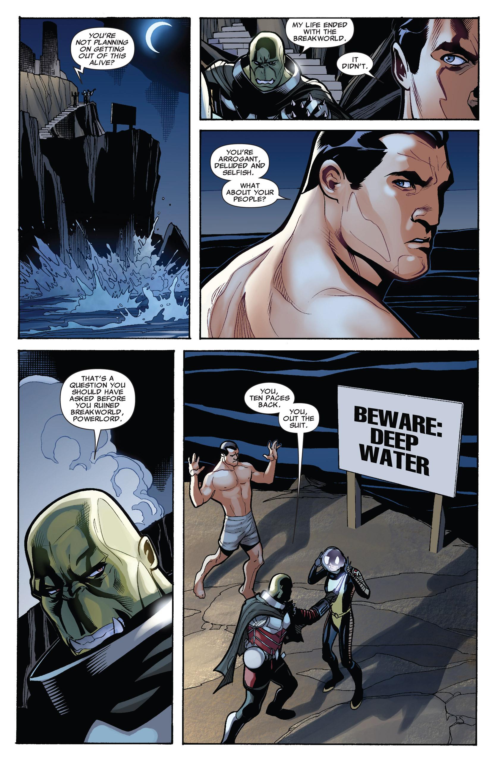 Read online Uncanny X-Men (1963) comic -  Issue #537 - 8