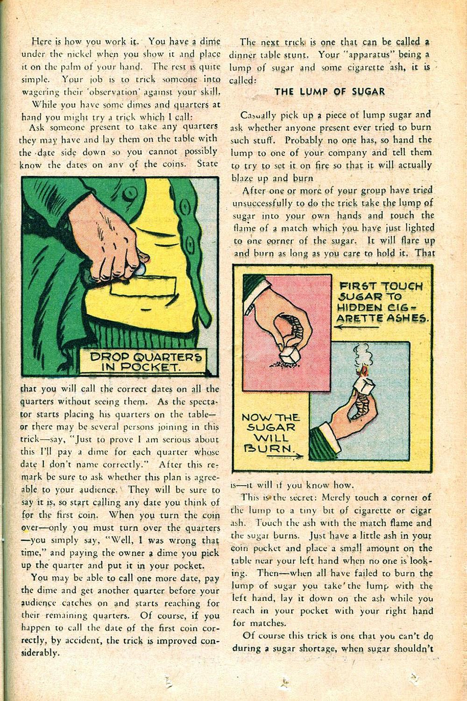 Read online Super-Magician Comics comic -  Issue #55 - 35