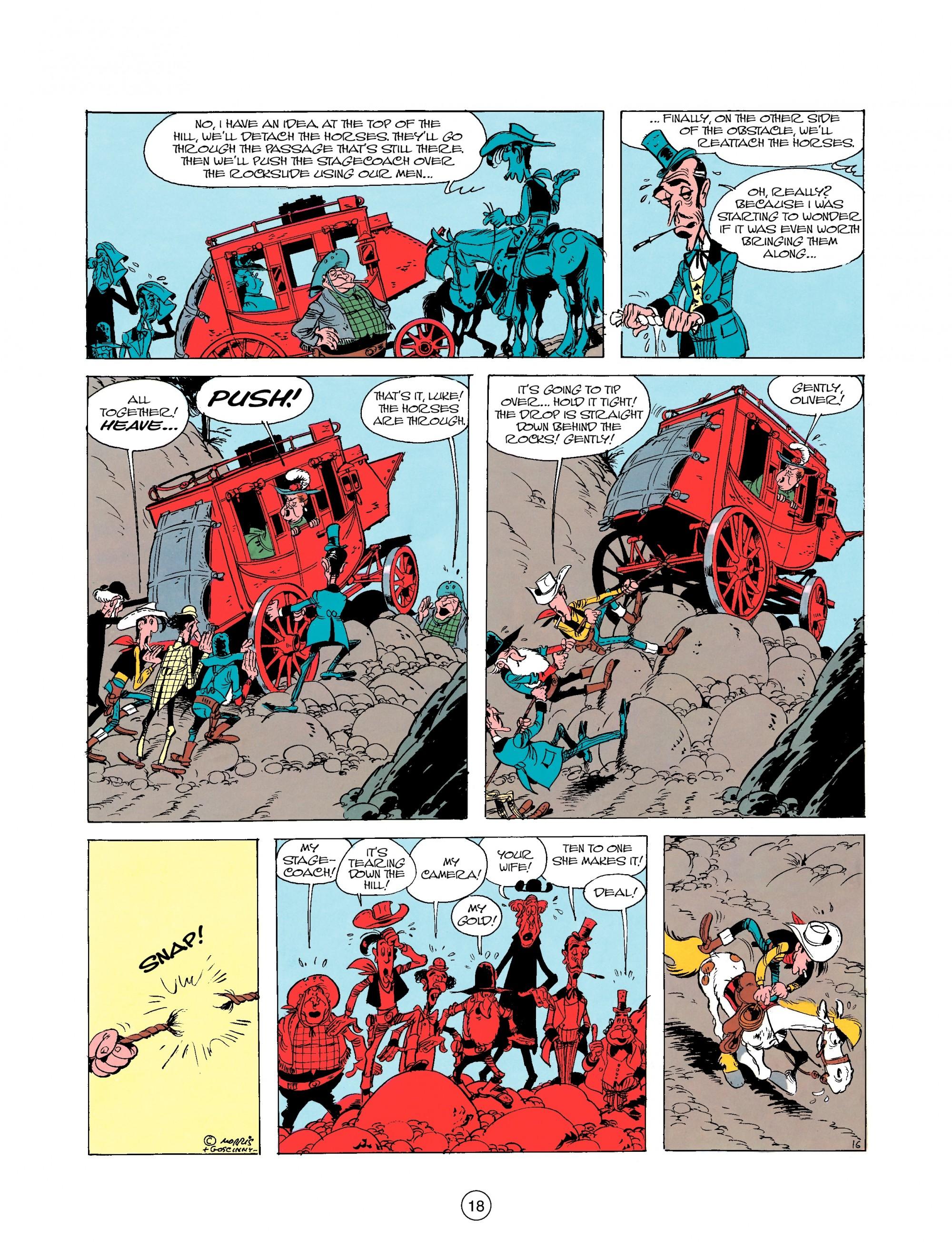 Read online A Lucky Luke Adventure comic -  Issue #25 - 18