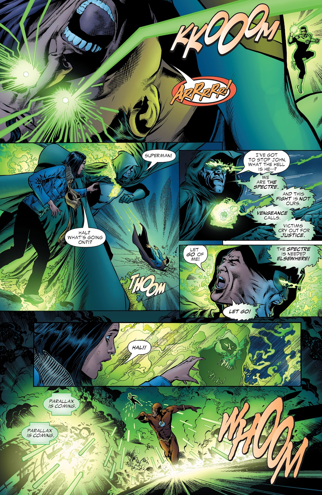 Read online Green Lantern by Geoff Johns comic -  Issue # TPB 1 (Part 1) - 57