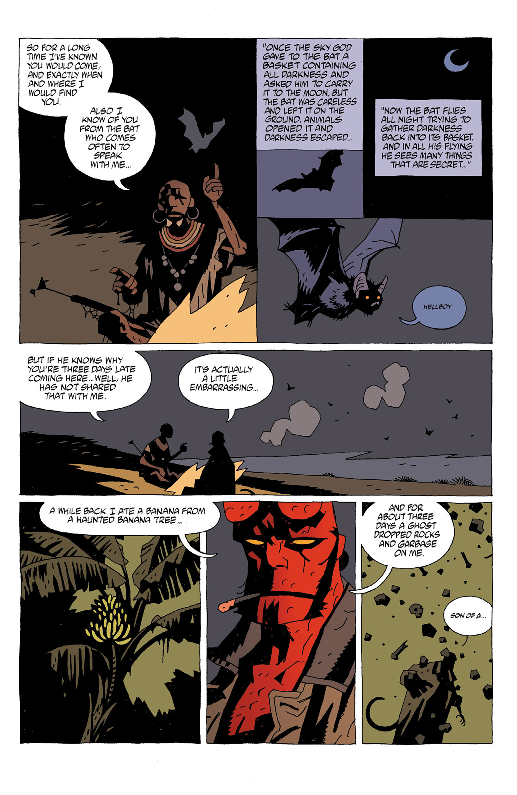 Read online Hellboy: Strange Places comic -  Issue # TPB - 13
