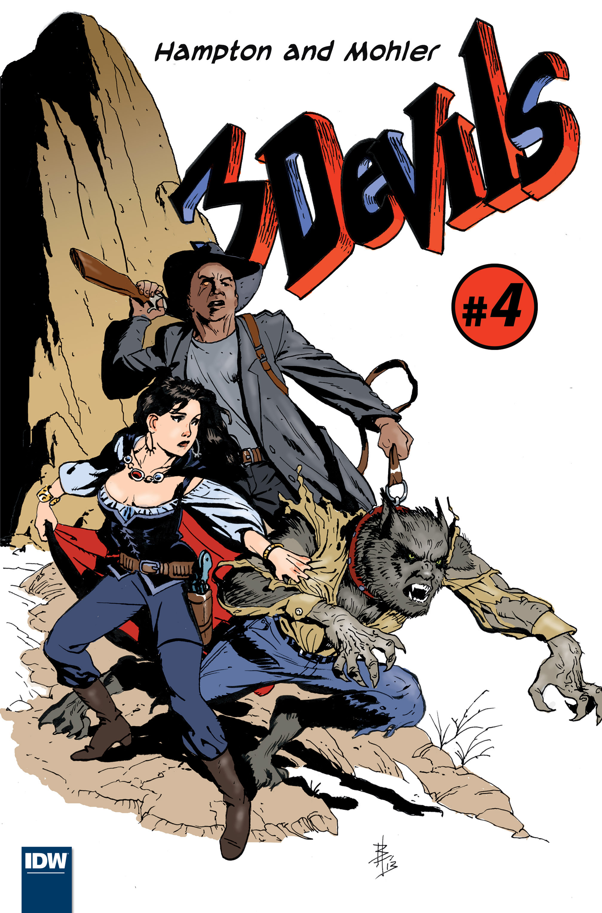 Read online 3 Devils comic -  Issue #4 - 1