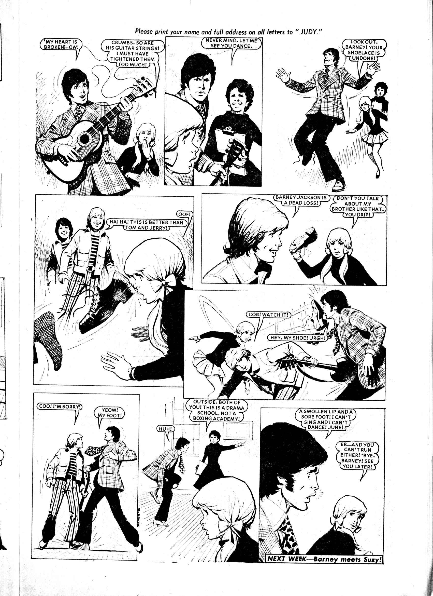 Read online Judy comic -  Issue #800 - 9
