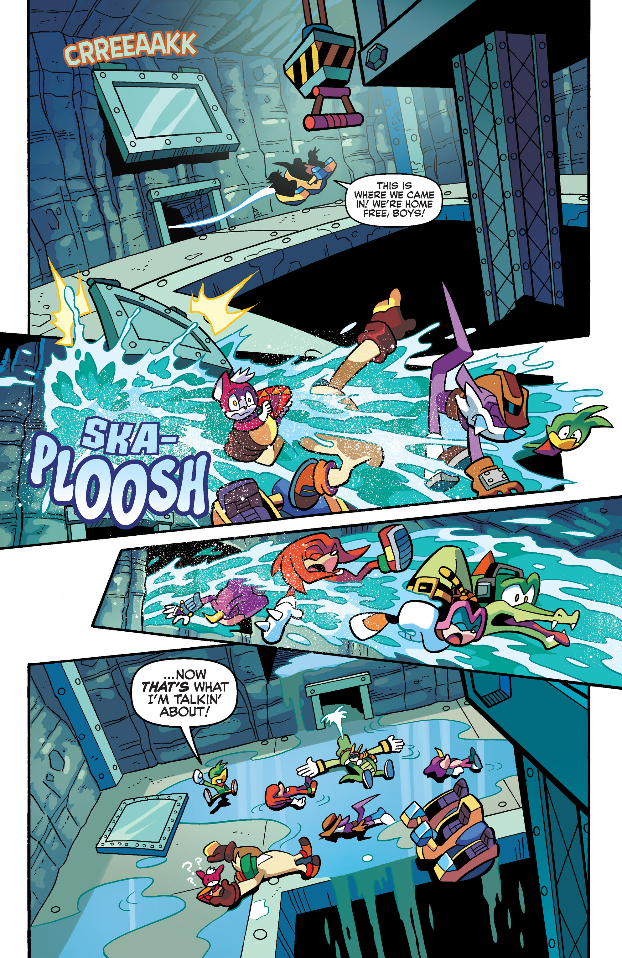 Read online Sonic Universe comic -  Issue #66 - 9