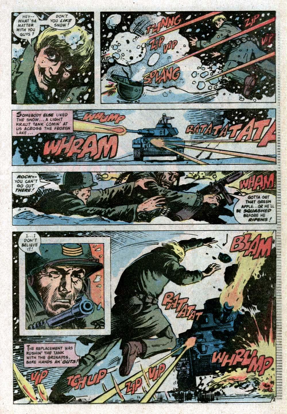 Read online Sgt. Rock comic -  Issue #352 - 18