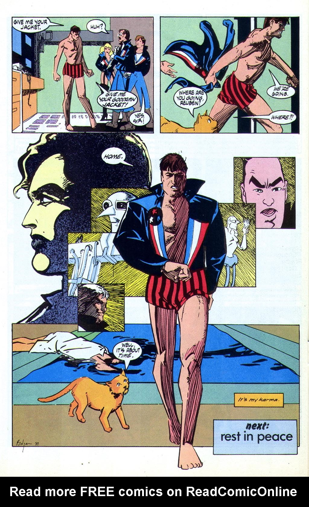 Read online American Flagg! comic -  Issue #44 - 31
