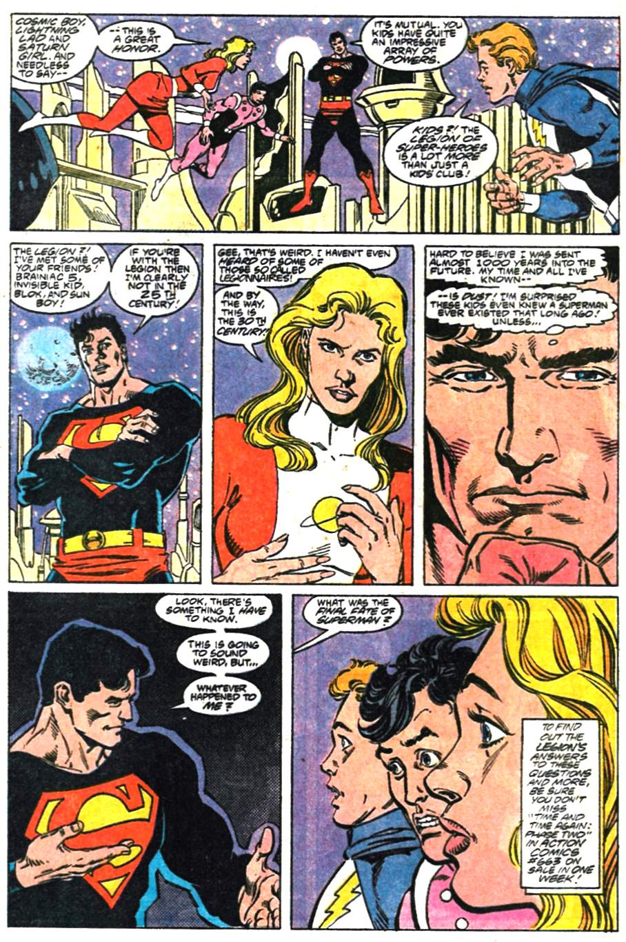 Read online Adventures of Superman (1987) comic -  Issue #476 - 23