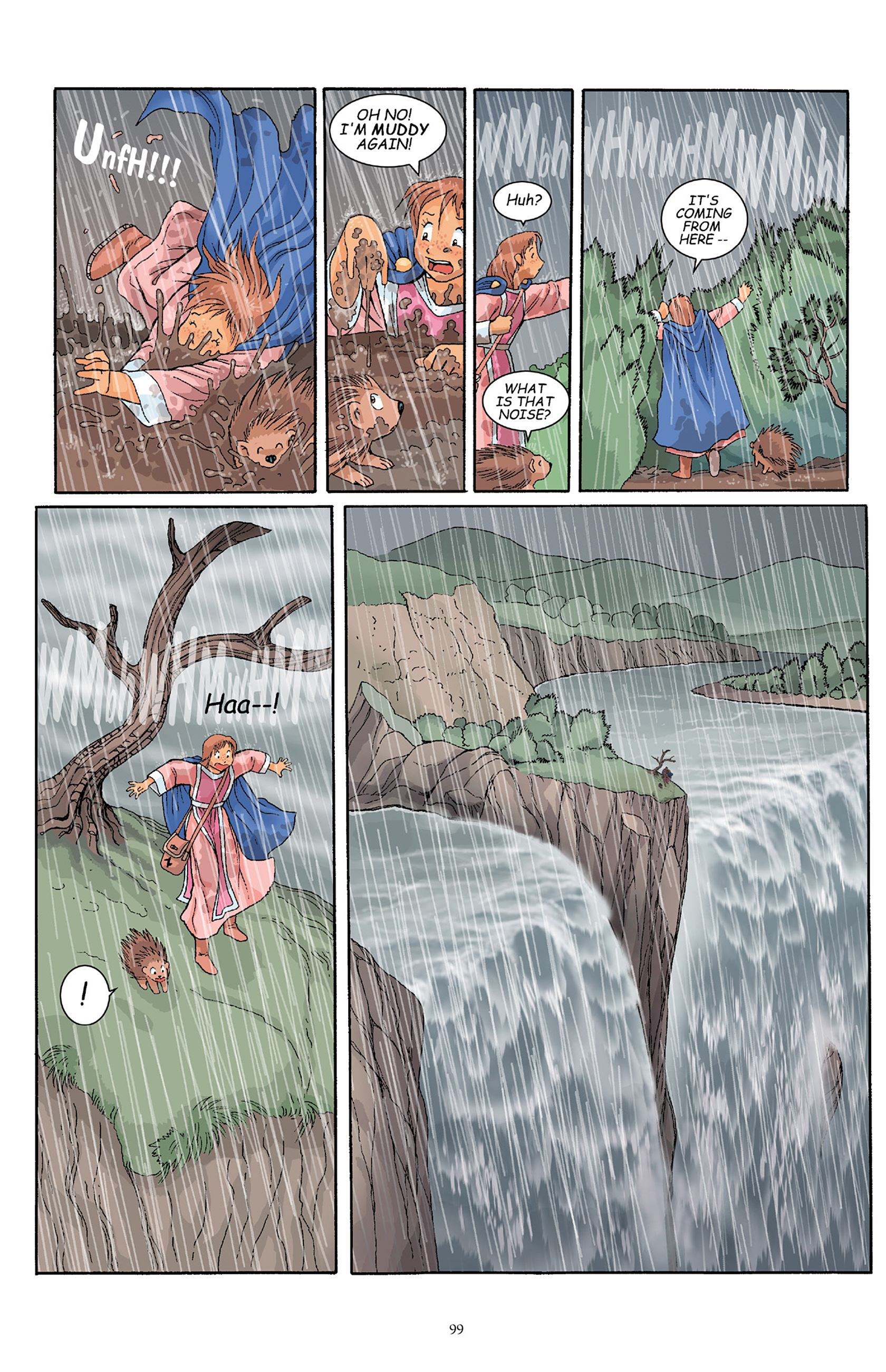 Read online Courageous Princess comic -  Issue # TPB 1 - 99