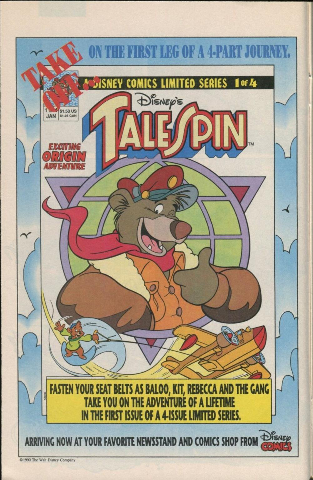 Read online Disney's Tale Spin Limited Series: ''Take Off'' comic -  Issue #1 - 30