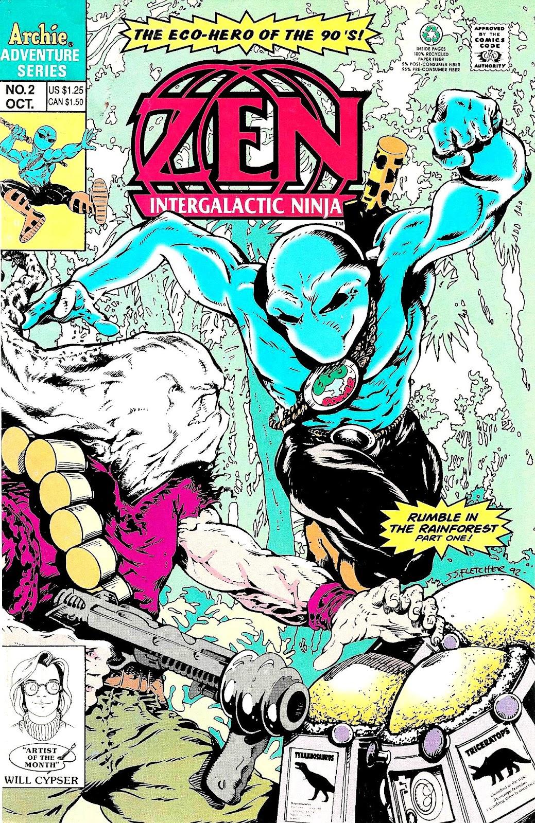 Read online Zen Intergalactic Ninja (1992) comic -  Issue #2 - 1