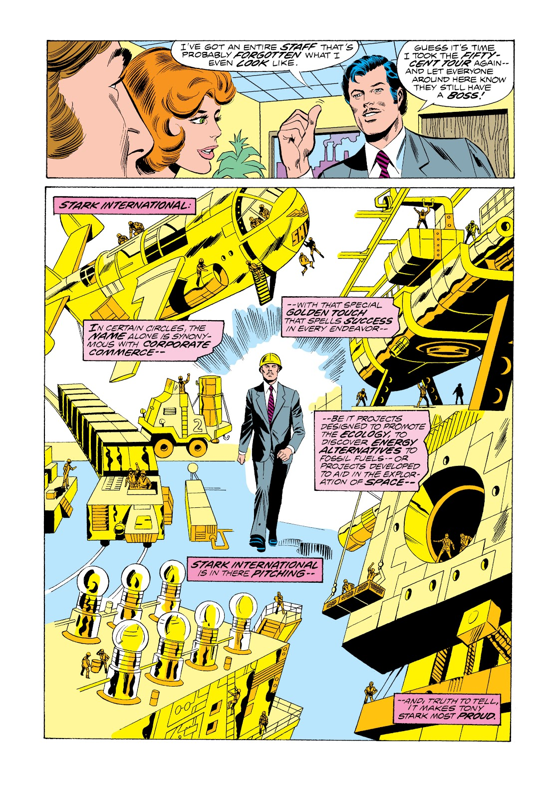 Read online Marvel Masterworks: The Invincible Iron Man comic -  Issue # TPB 11 (Part 1) - 14