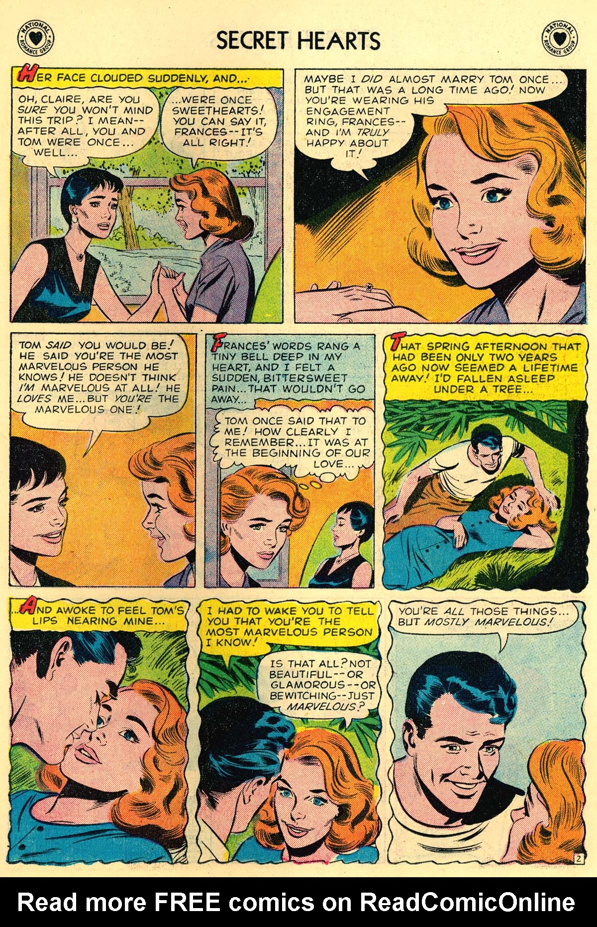 Read online Secret Hearts comic -  Issue #43 - 11