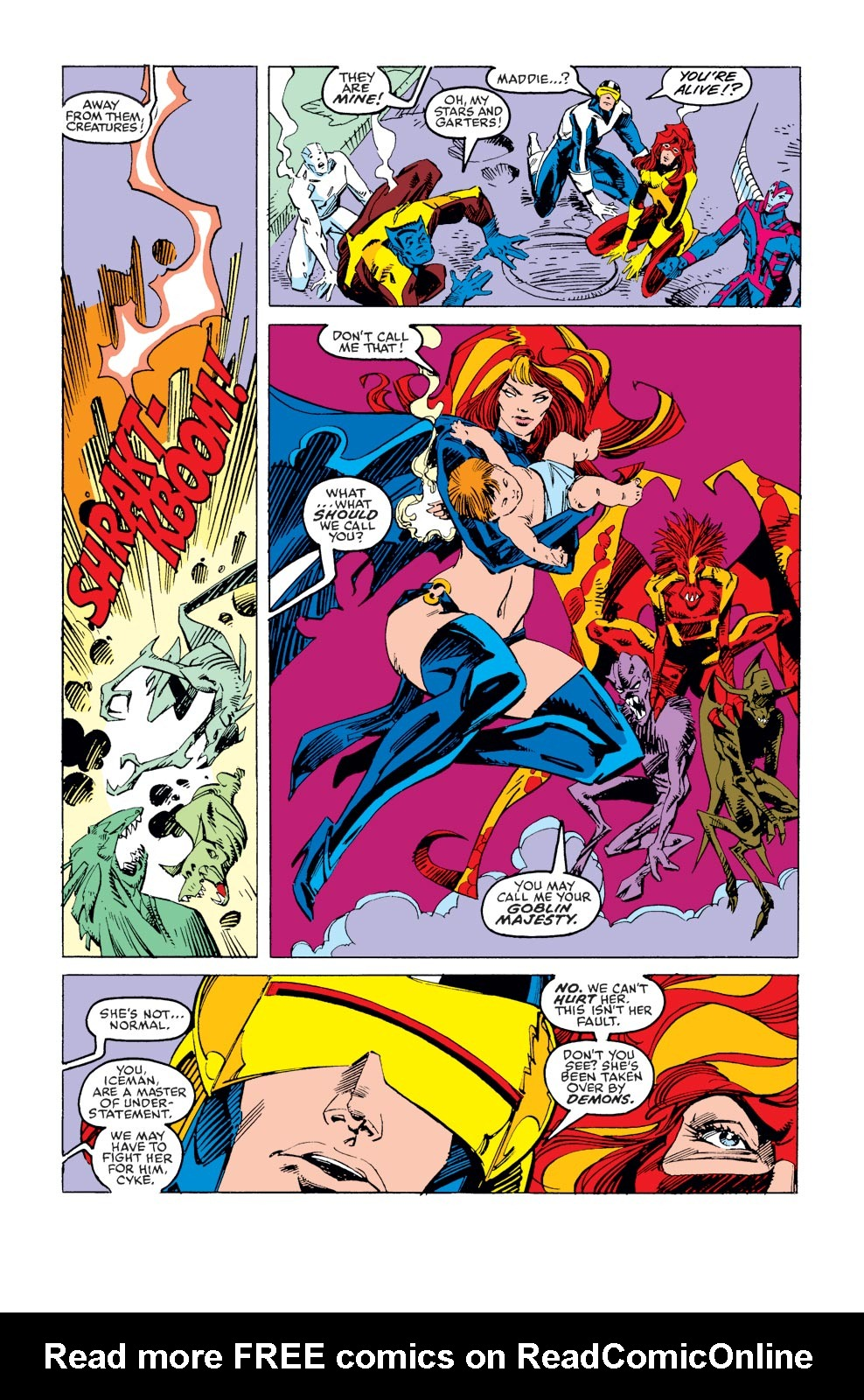 Read online X-Factor (1986) comic -  Issue #37 - 8