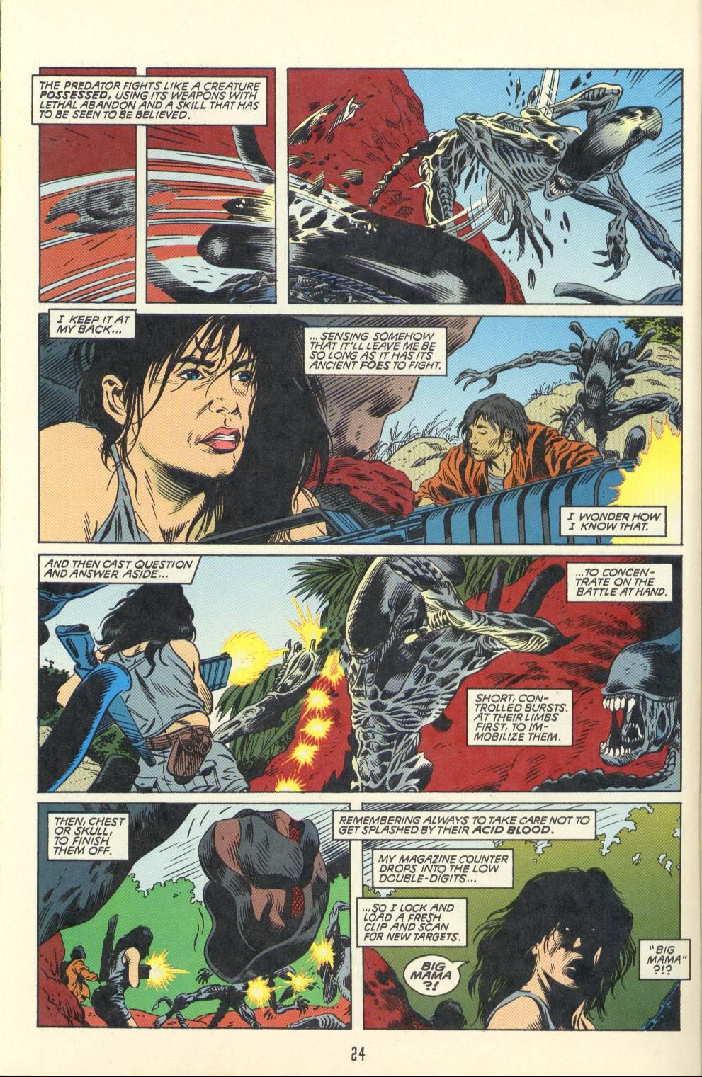 Read online Aliens/Predator: The Deadliest of the Species comic -  Issue #2 - 25