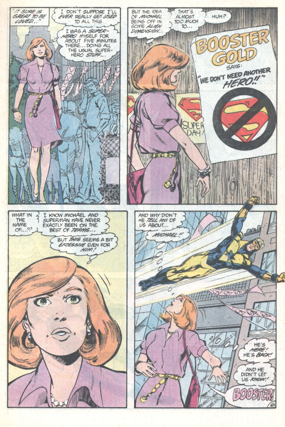 Read online Action Comics (1938) comic -  Issue #594 - 7