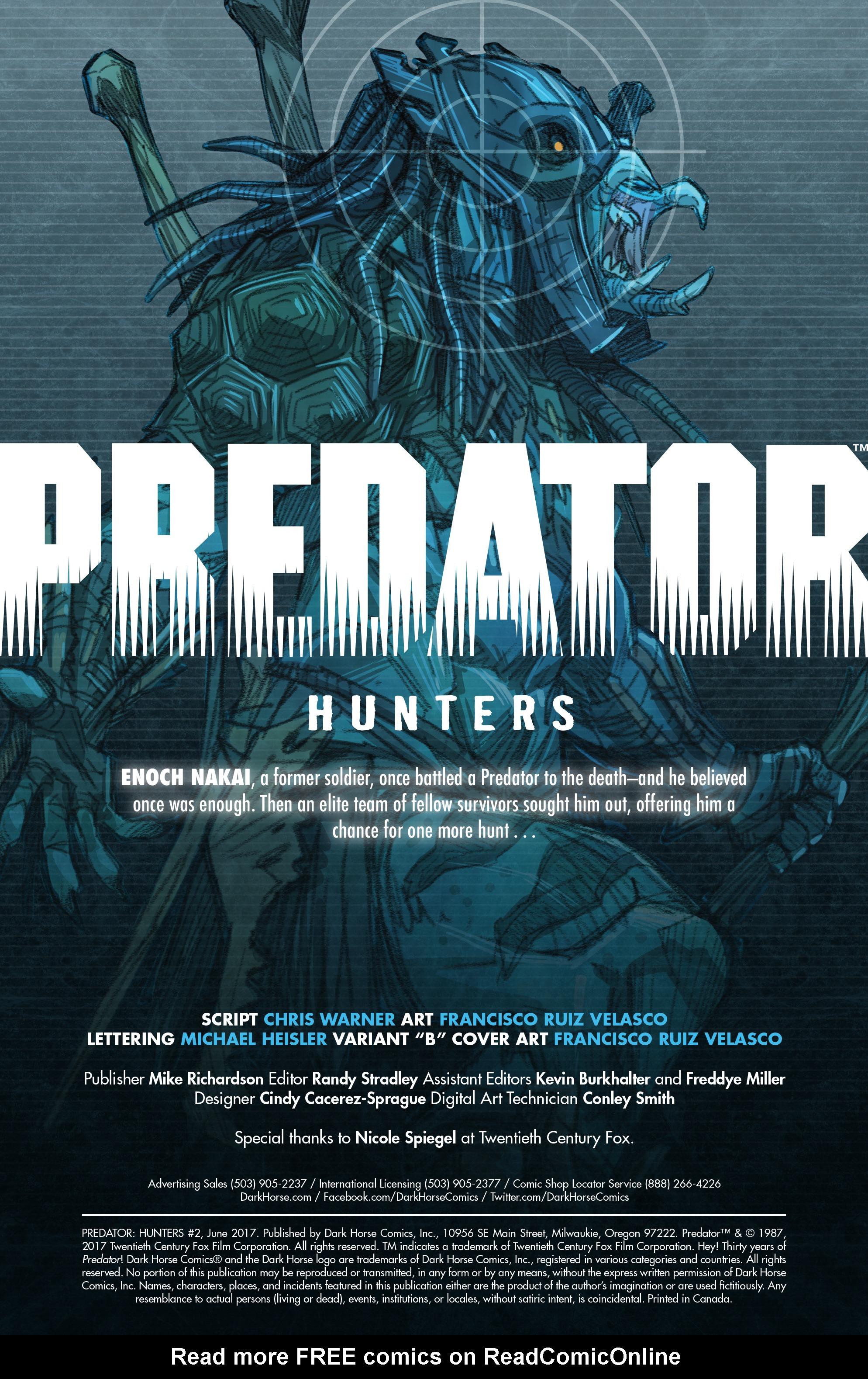 Read online Predator: Hunters comic -  Issue #2 - 4