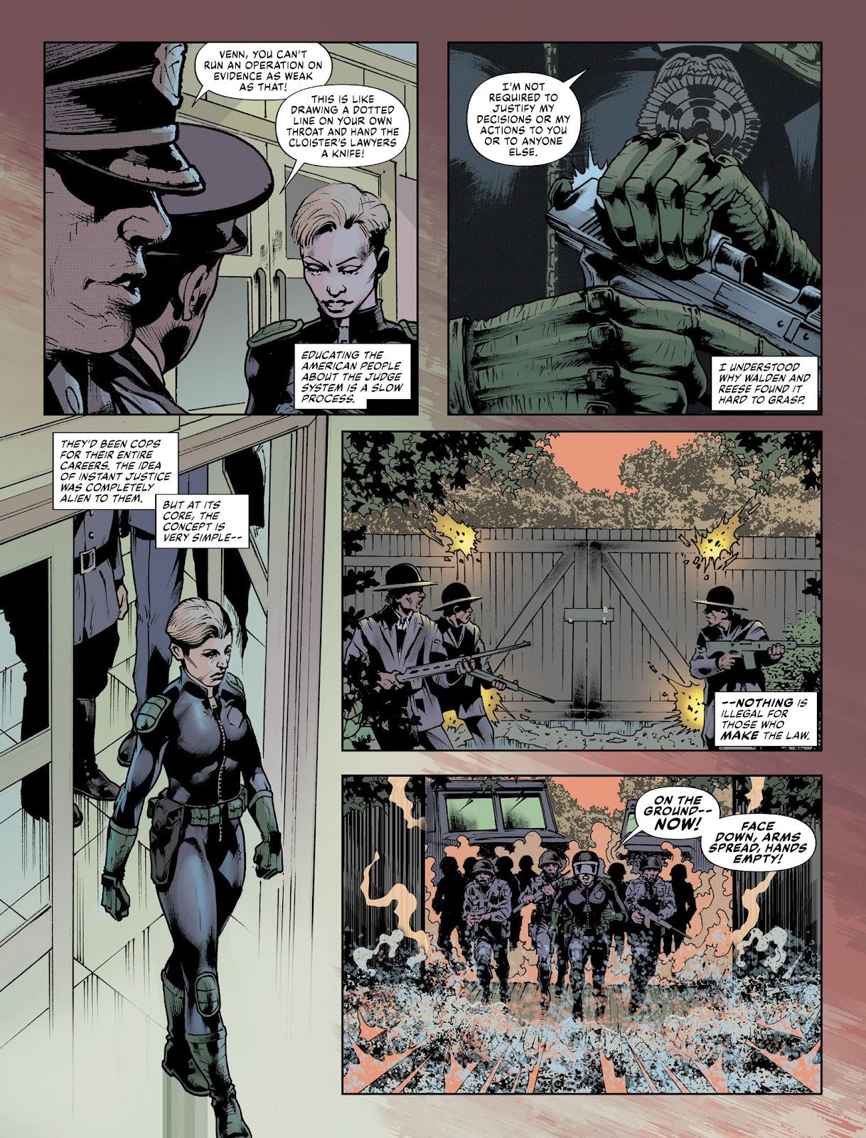 Judge Dredd Megazine (Vol. 5) issue 427 - Page 36