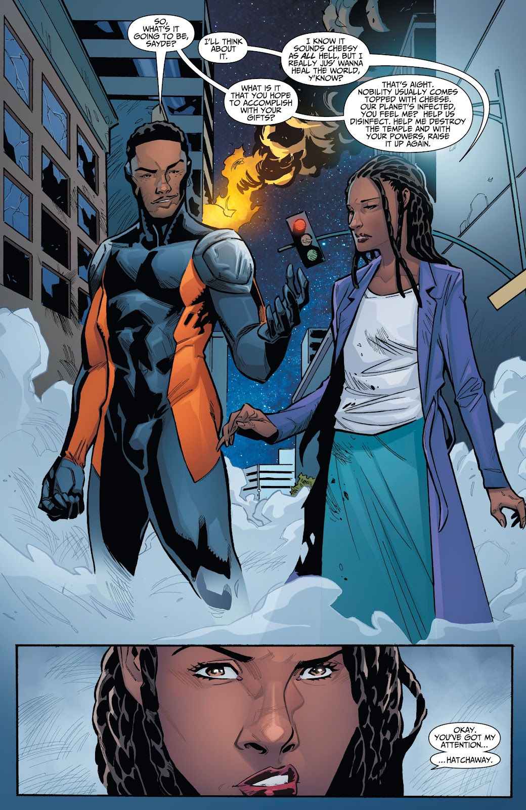 Read online Incidentals comic -  Issue #16 - 3