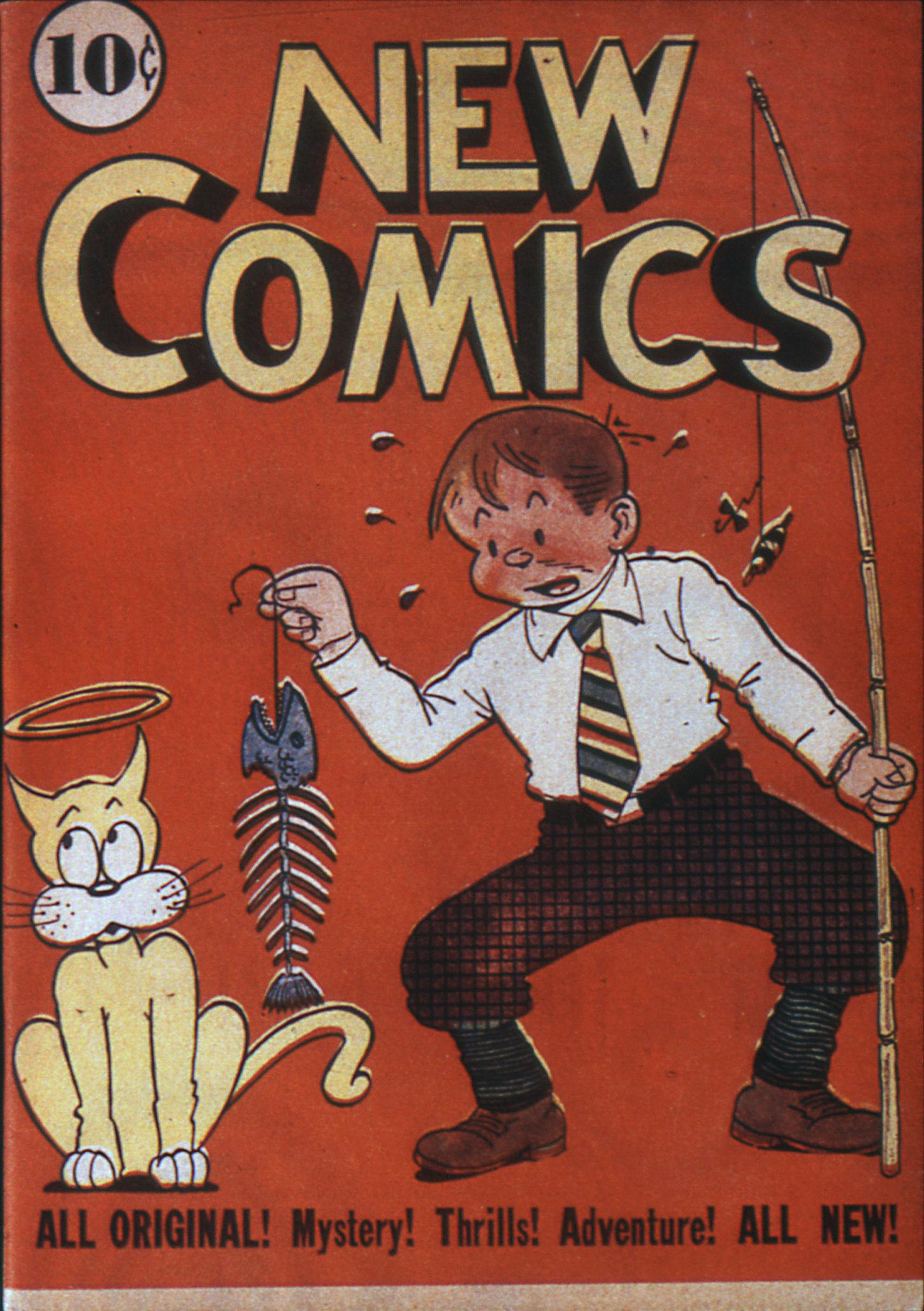 Read online Adventure Comics (1938) comic -  Issue #6 - 1