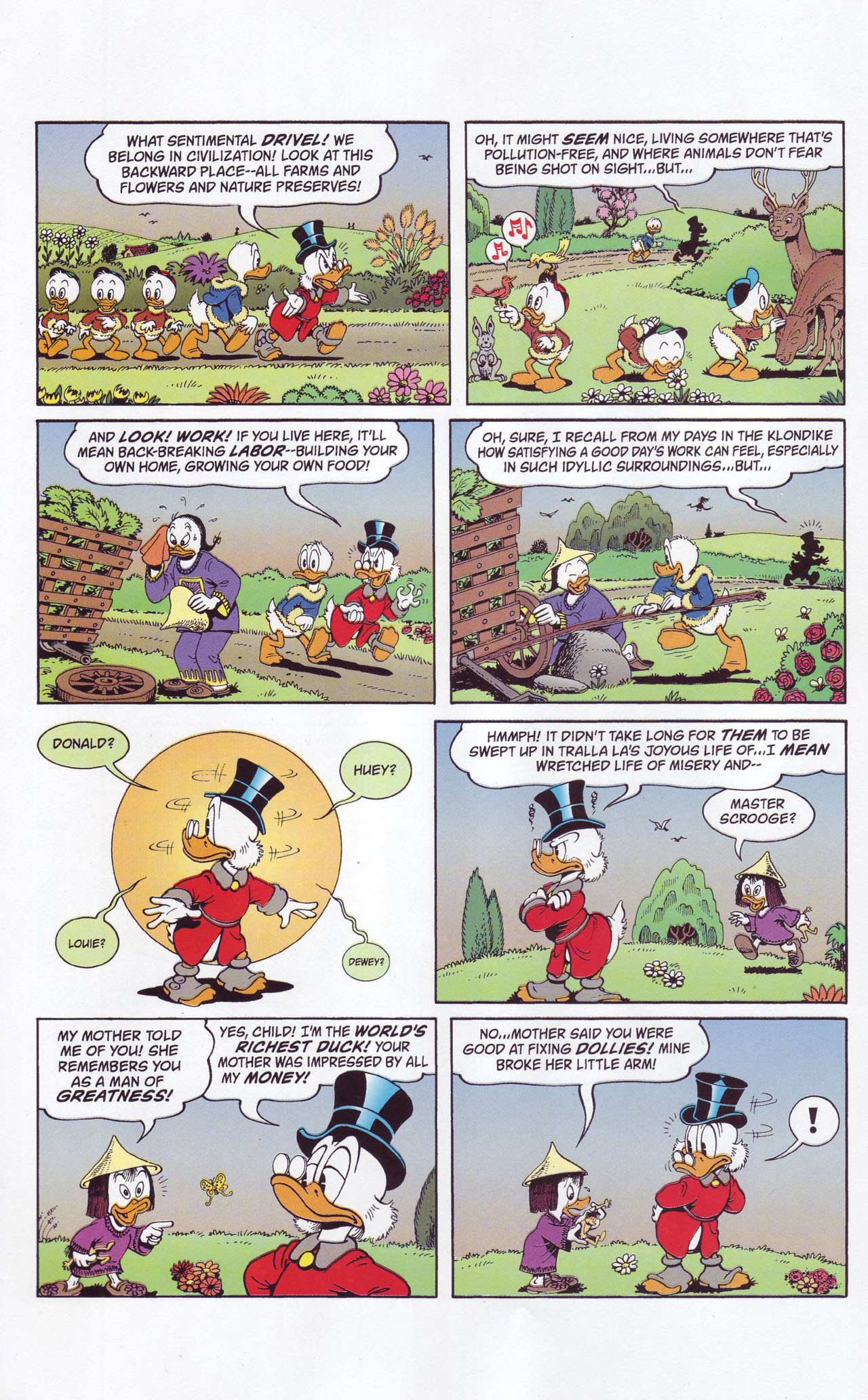 Read online Uncle Scrooge (1953) comic -  Issue #357 - 16