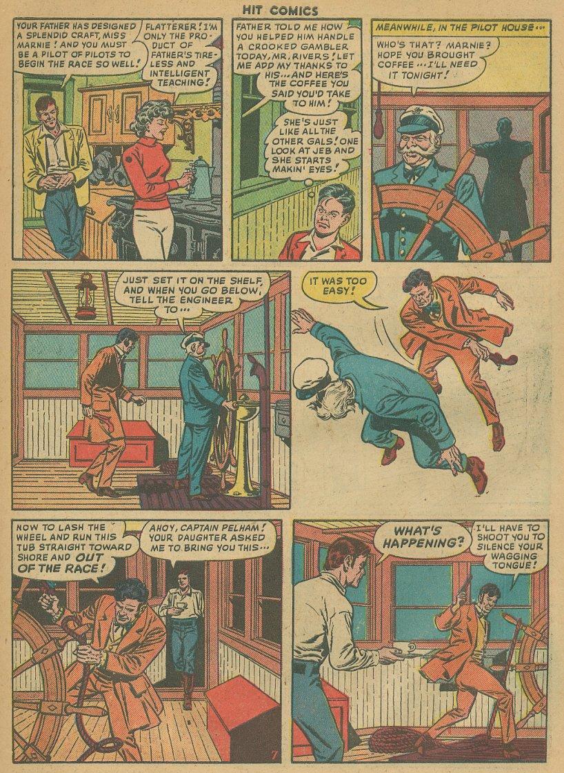 Read online Hit Comics comic -  Issue #61 - 9