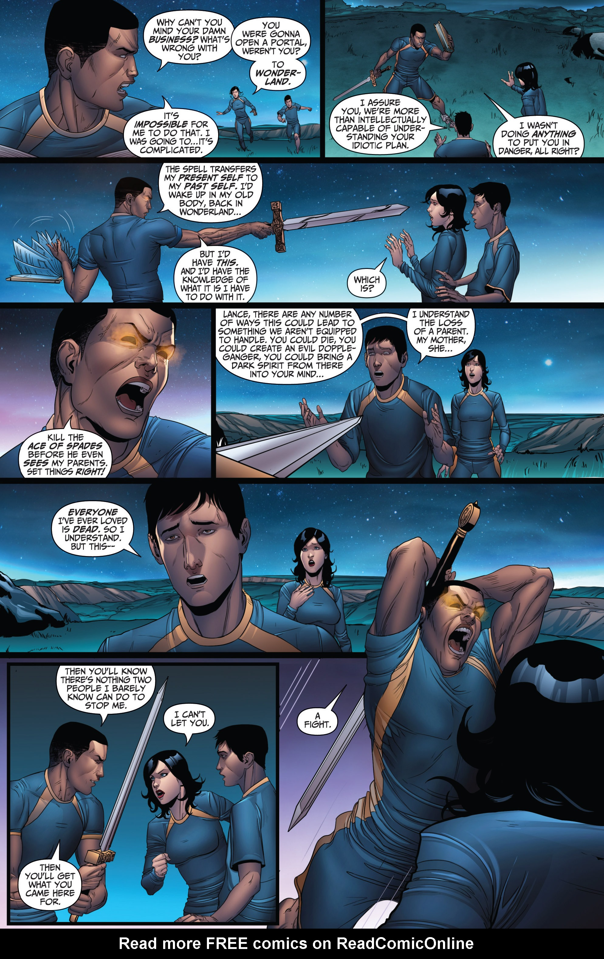 Read online Grimm Fairy Tales: Arcane Acre comic -  Issue # TPB 3 - 69