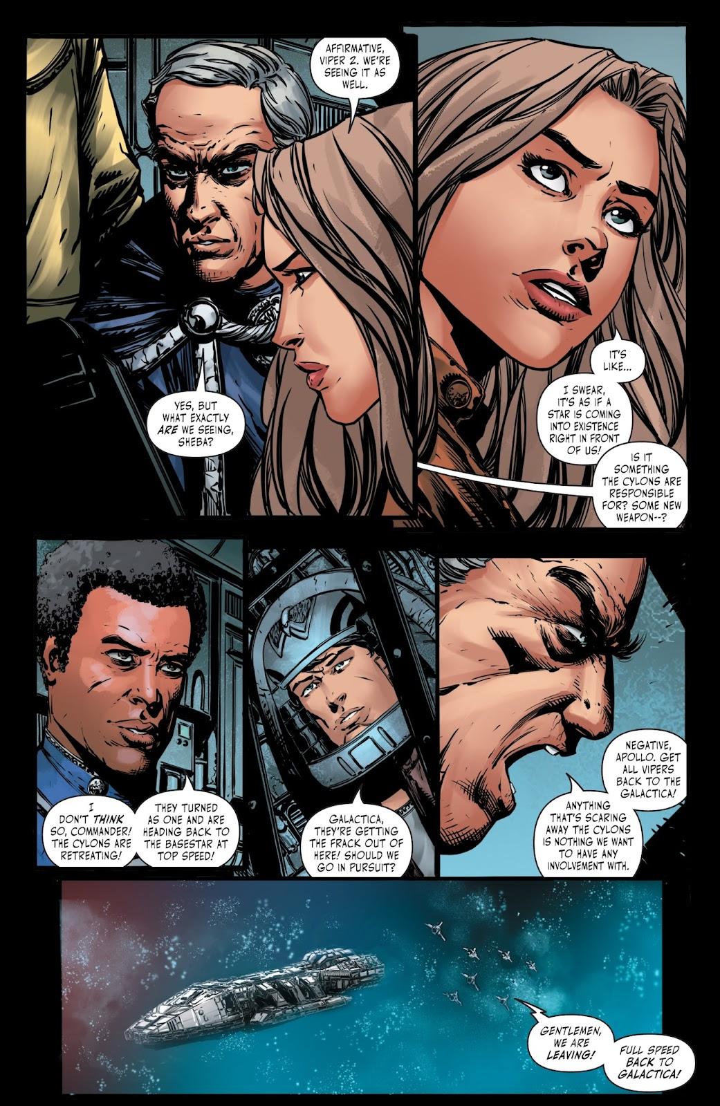 Battlestar Galactica BSG vs. BSG issue 1 - Page 23