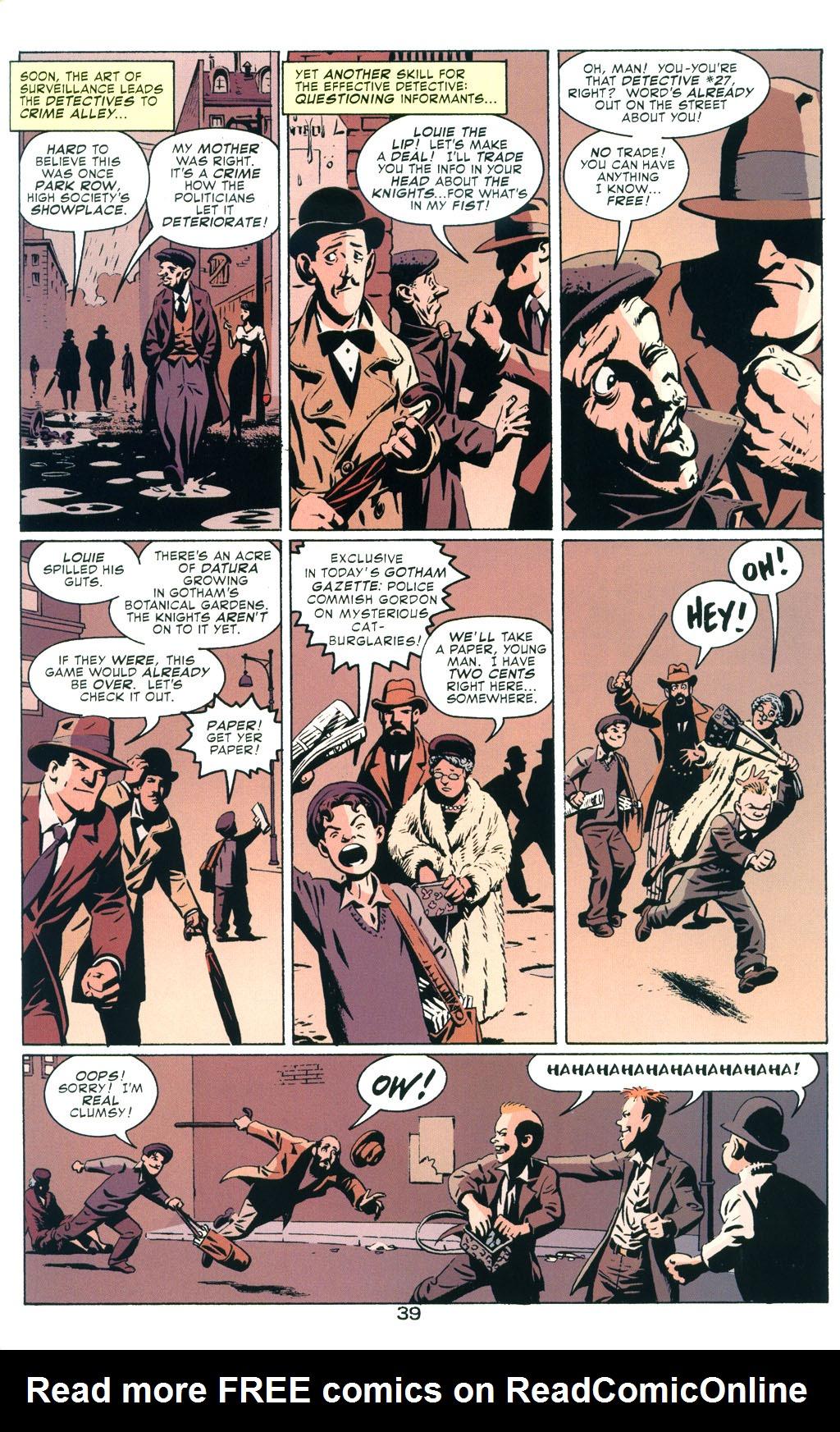 Read online Batman: Detective #27 comic -  Issue #27 TPB - 45