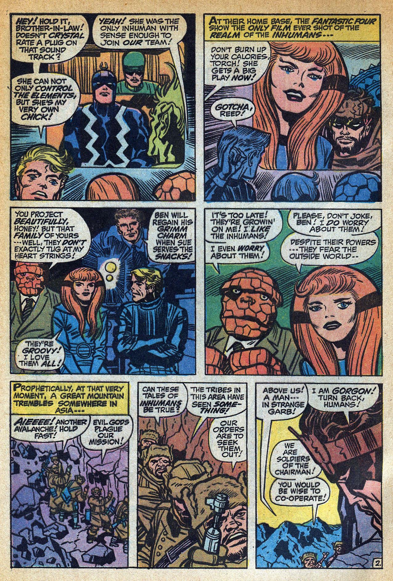 Read online Amazing Adventures (1970) comic -  Issue #1 - 4