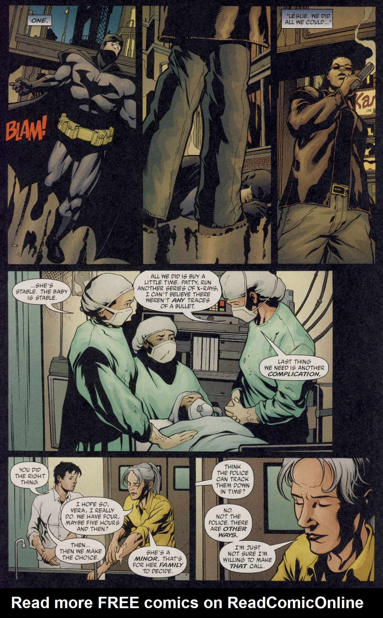 Read online Batman War Drums comic -  Issue # TPB - 37